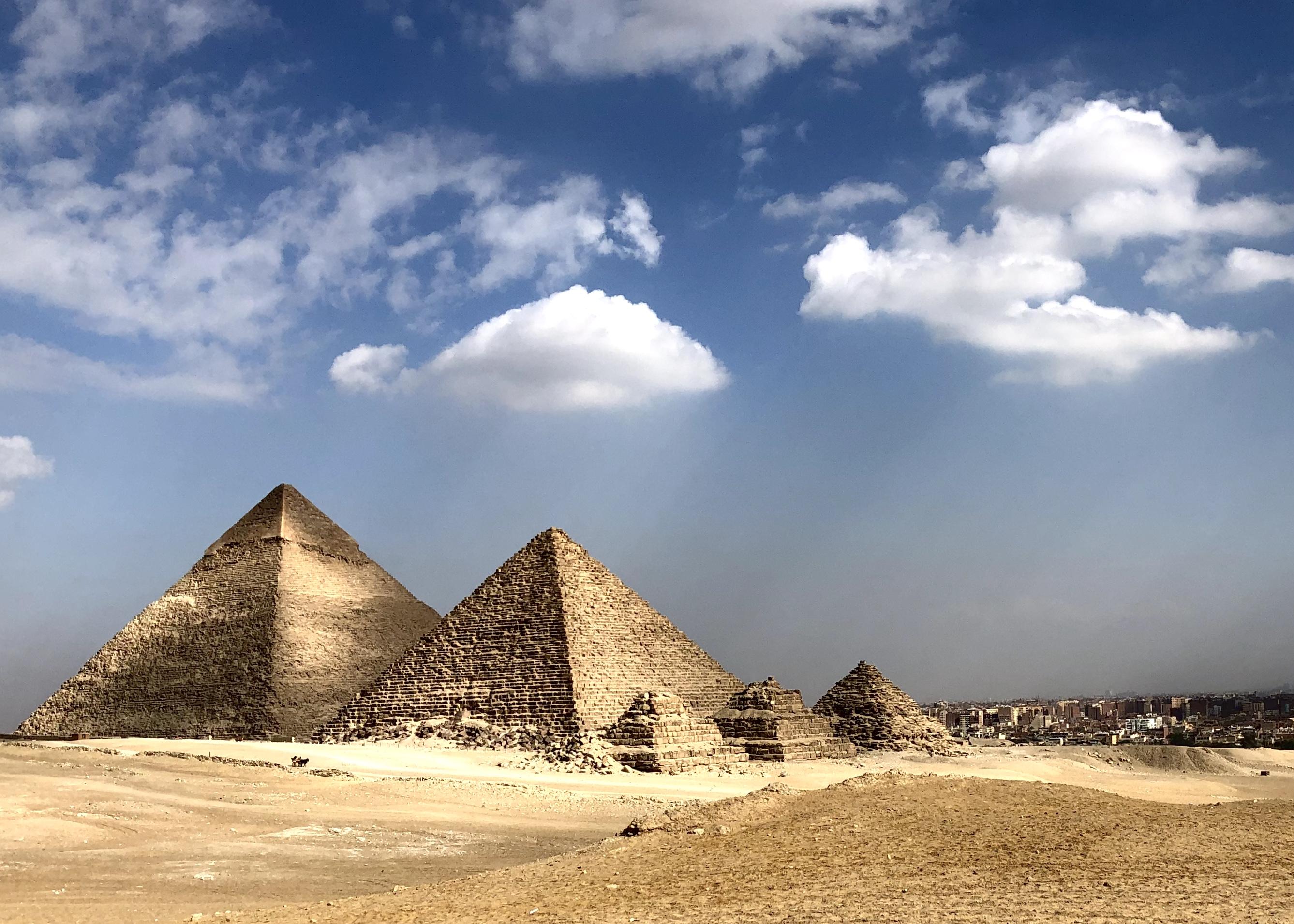 Free Images : pyramids, giza, egypt, desert, pyramid, monument