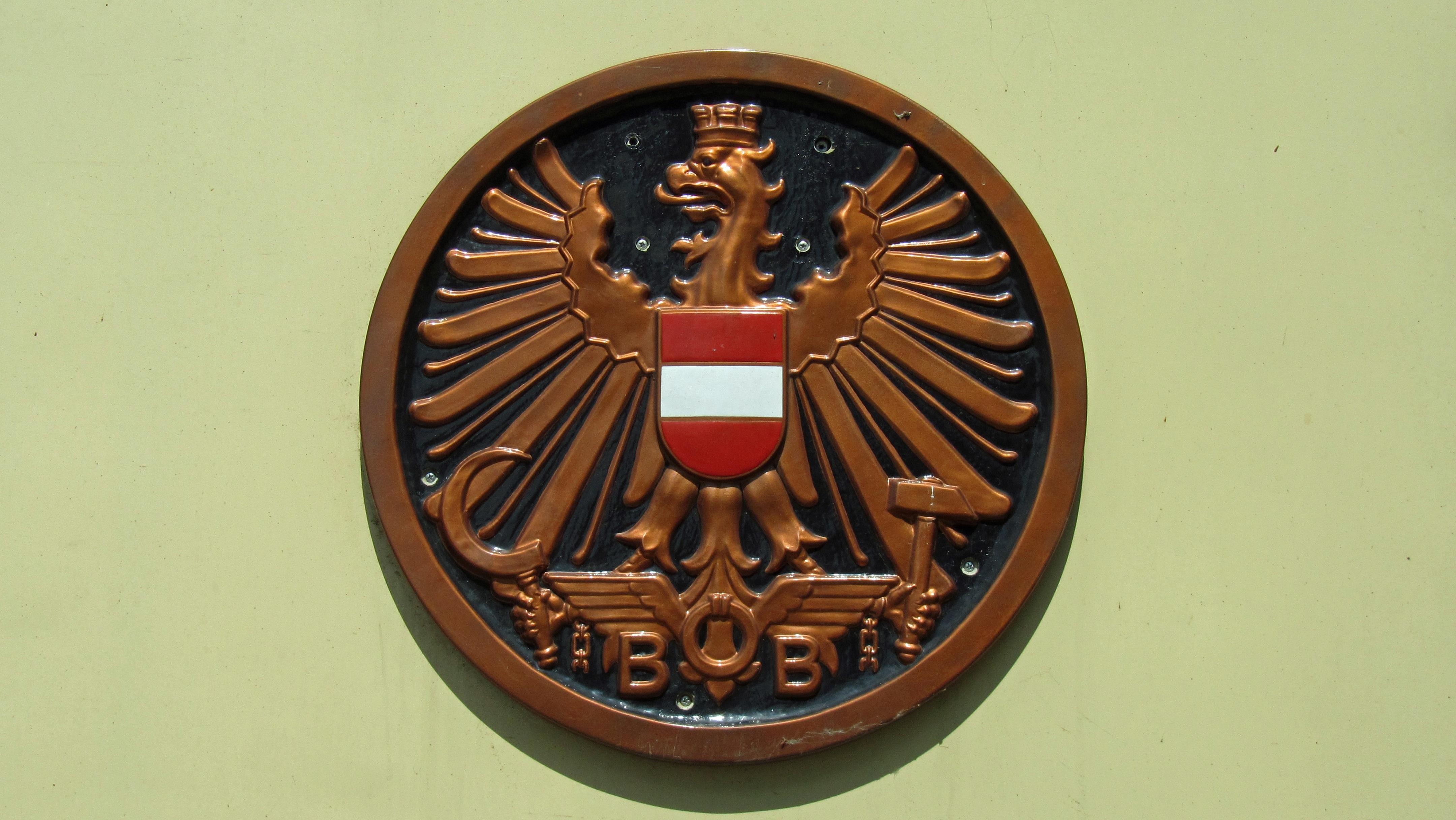 Ferrovia Orologio Vecchio Simbolo Intaglio Medaglia Premio Aquila Bb Segno