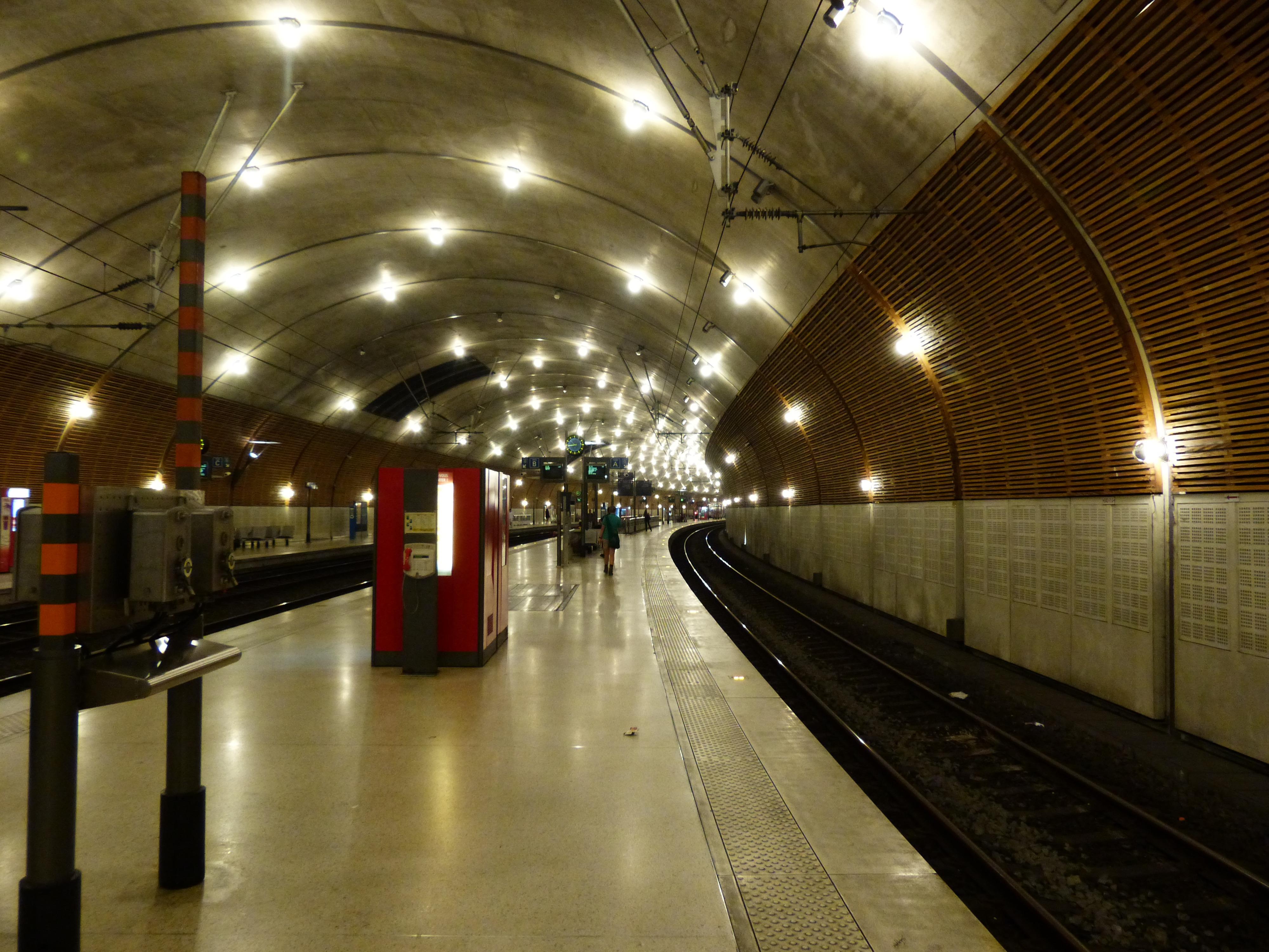Free Images Night Tunnel Dark Subway Underground