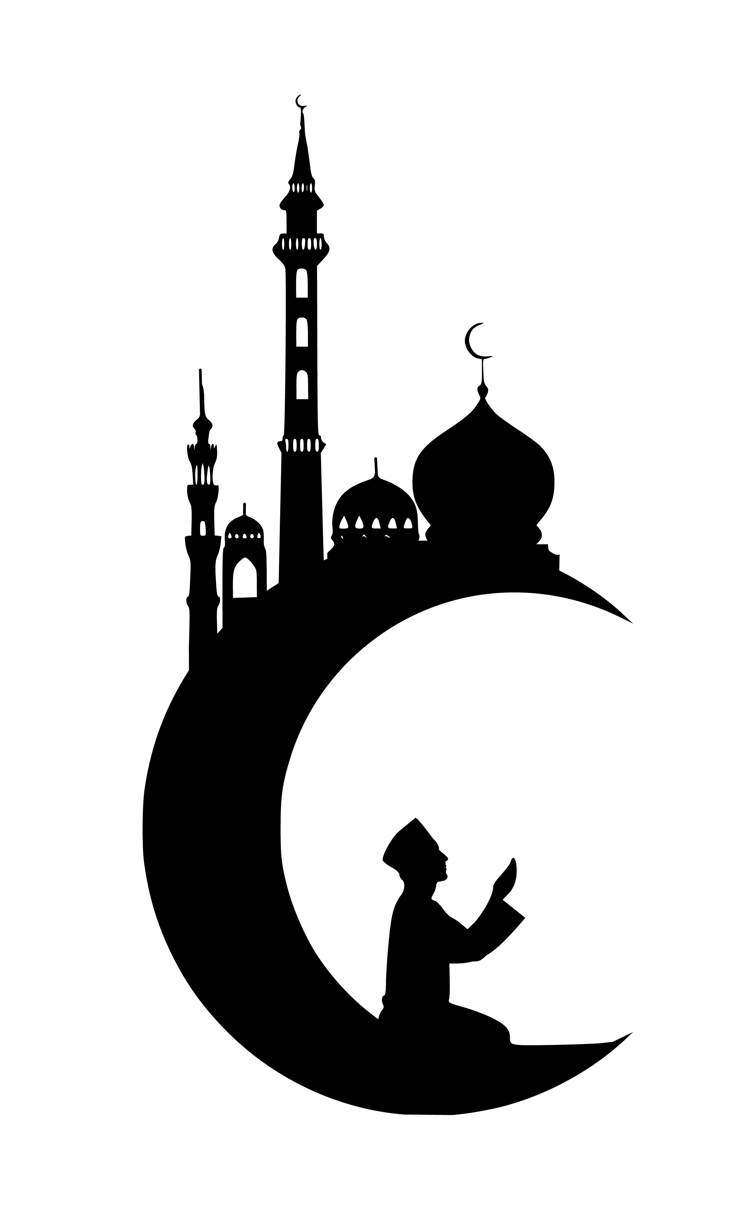 Free Images : ramadan, kareem, moon, masjid, eid, arabic, night