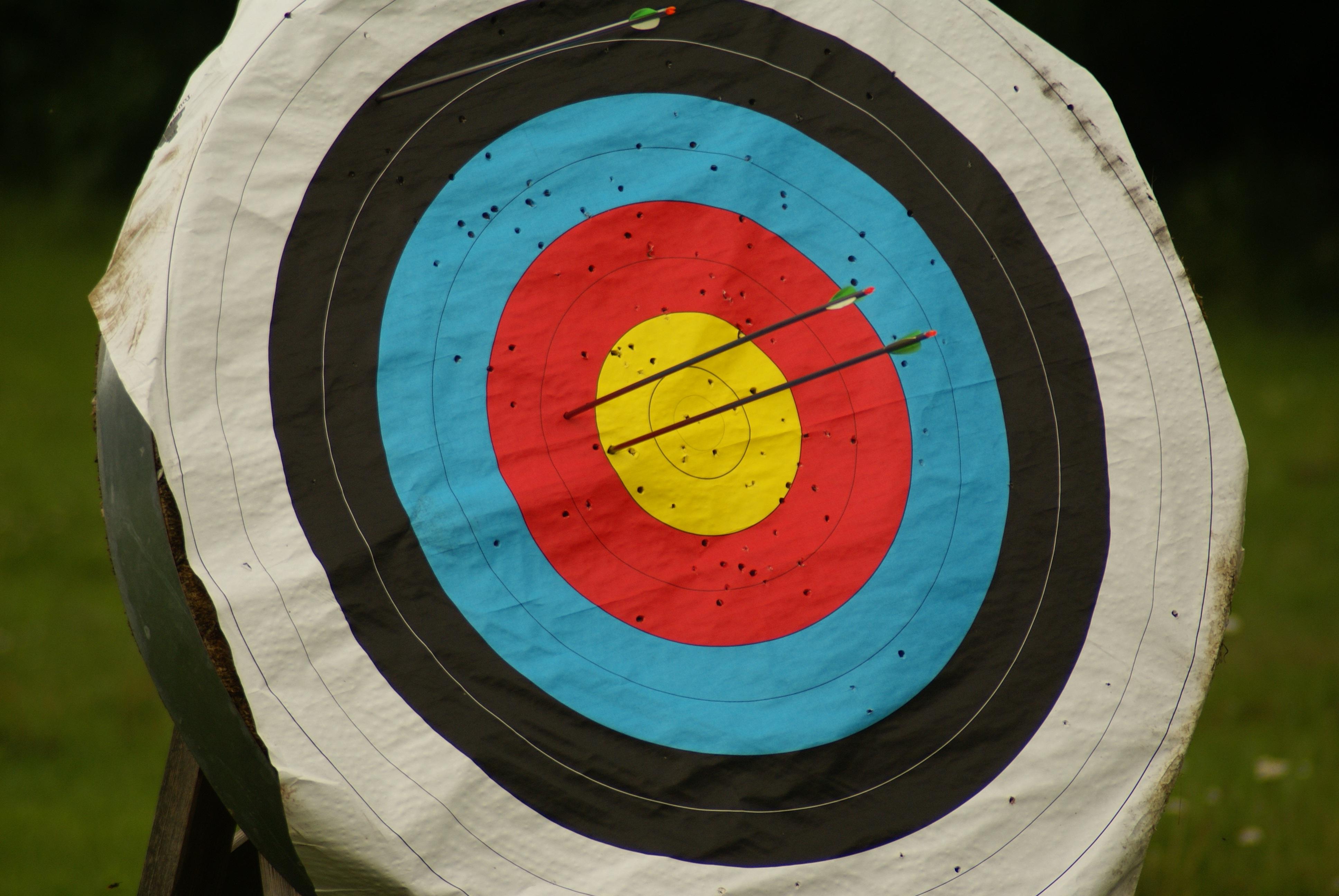 Gambar Lengkungan Hijau Warna Lingkaran Edisi Target Cakram