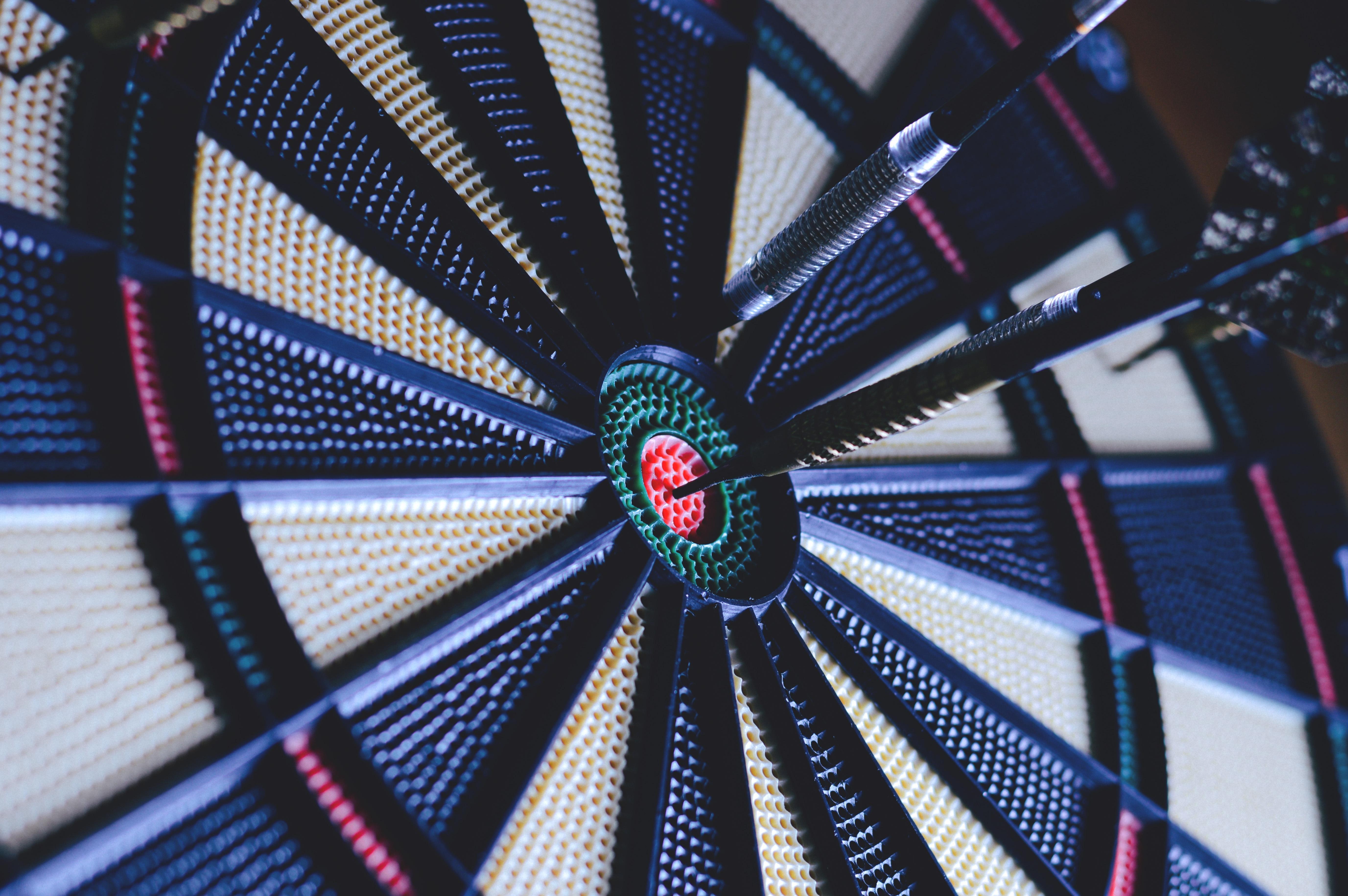 free images recreation blue symmetry darts bullseye dart