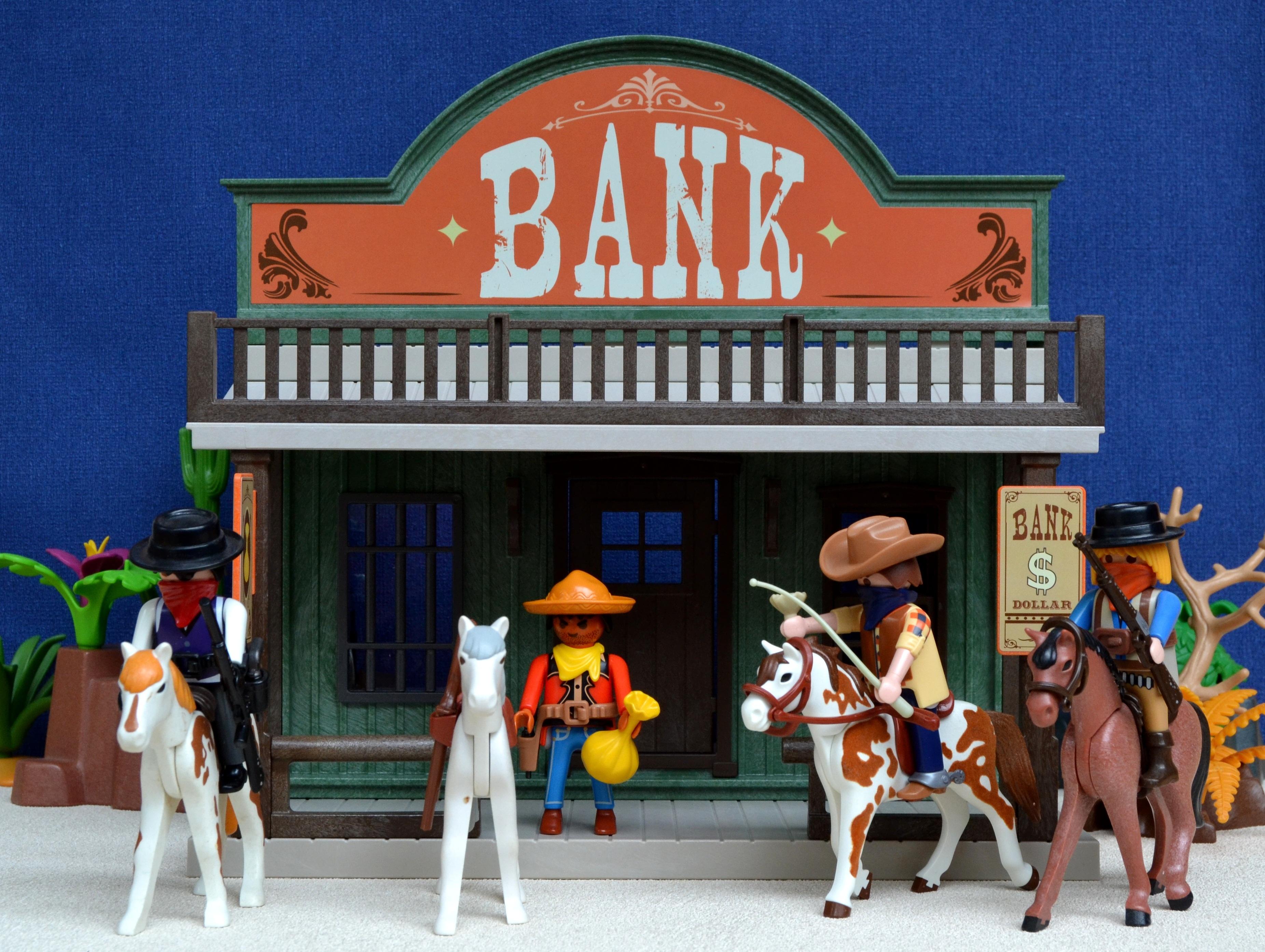 Playmobil Western Bank