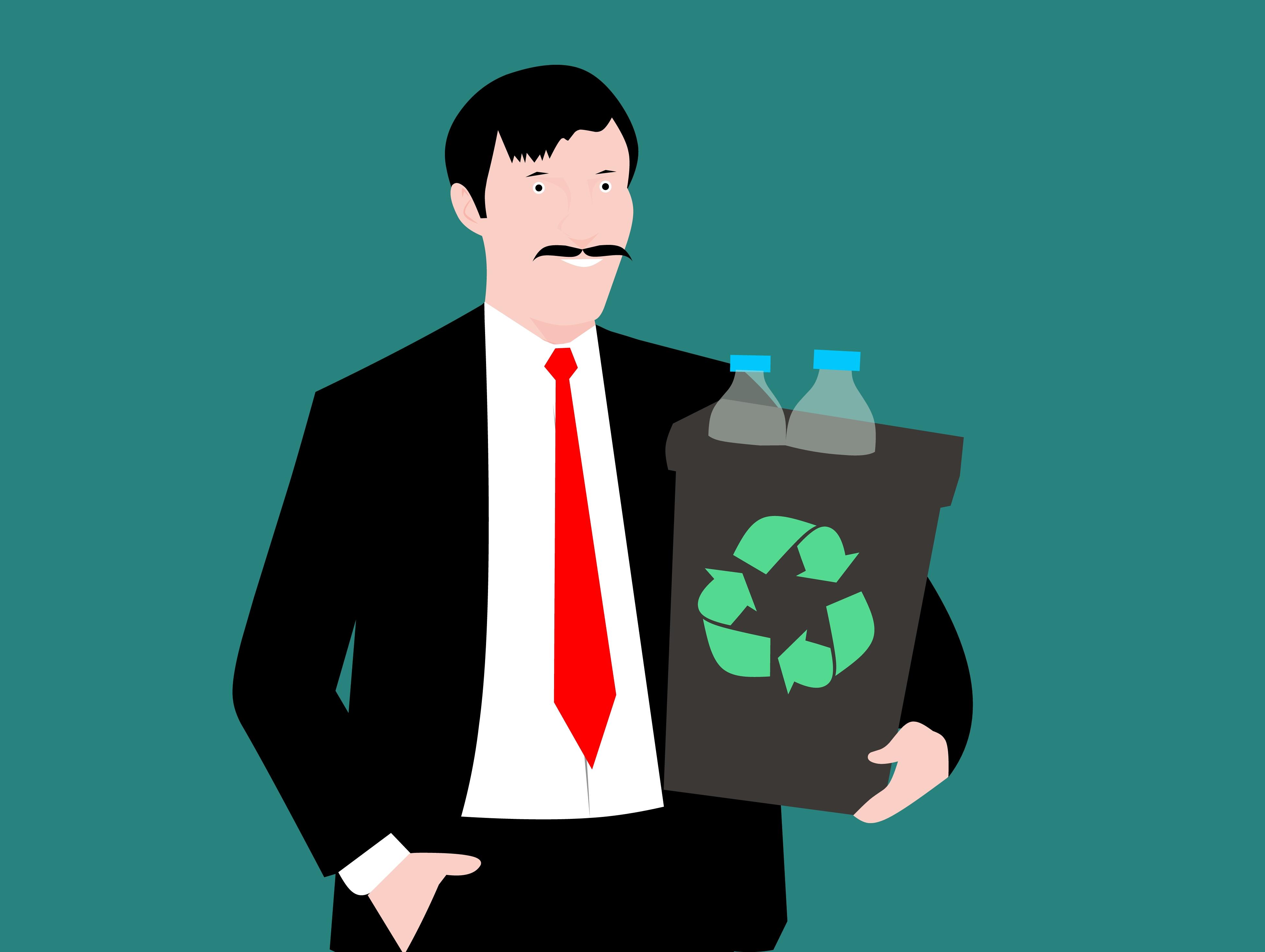 Banco De Imagens Reciclando Lixeira De Reciclagem Plastico