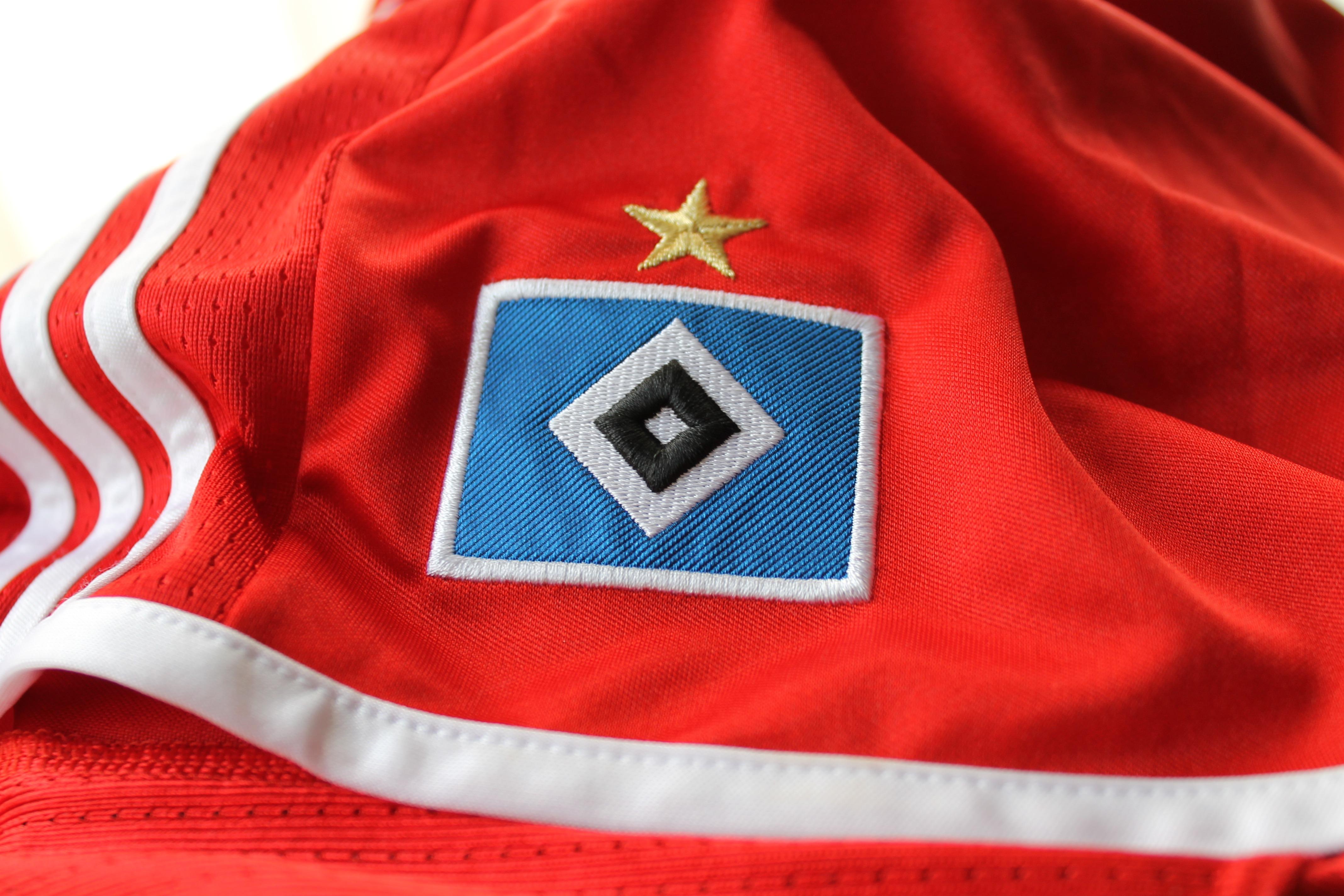 Gambar Pakaian Sepak Bola Hamburg Baju Kaos Olahraga Bendera Amerika Merah Negara Bersatu Hamburger Sv