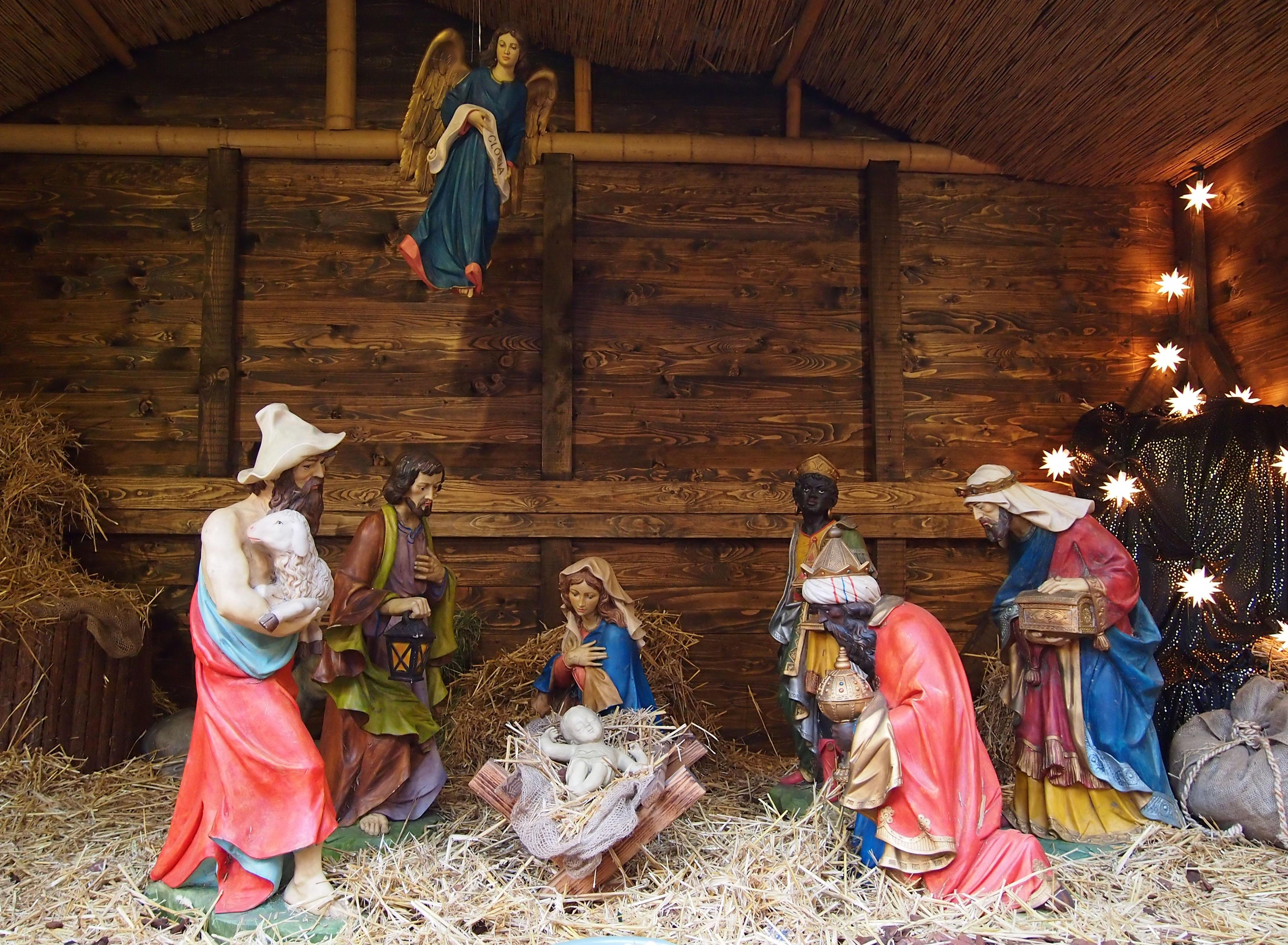 Free Images : religion, child, christian, decor, bible, donkey ...