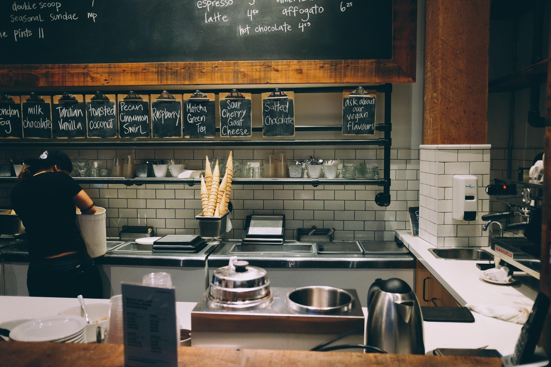 Gambar Restoran Bar Makanan Menu Kamar Desain Interior