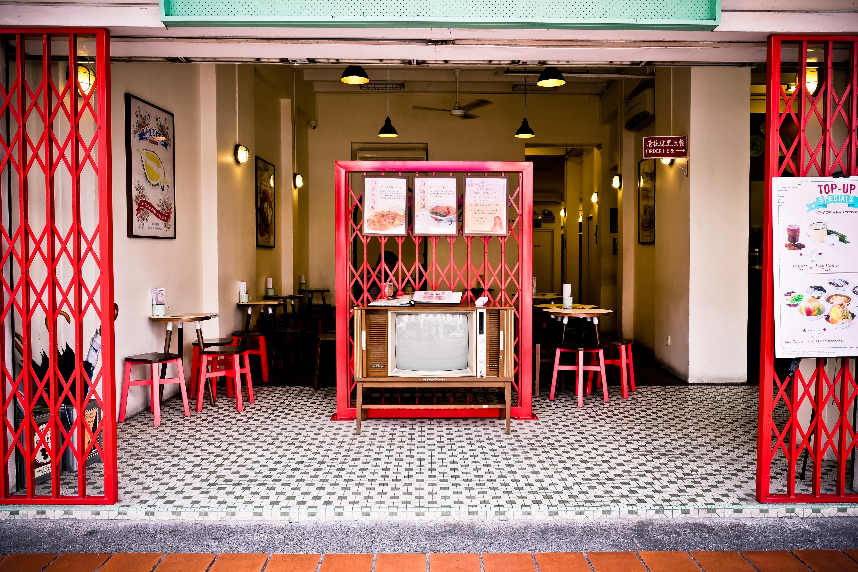 Gratis Afbeeldingen : restaurant, bar, rood, interieur ontwerp ...
