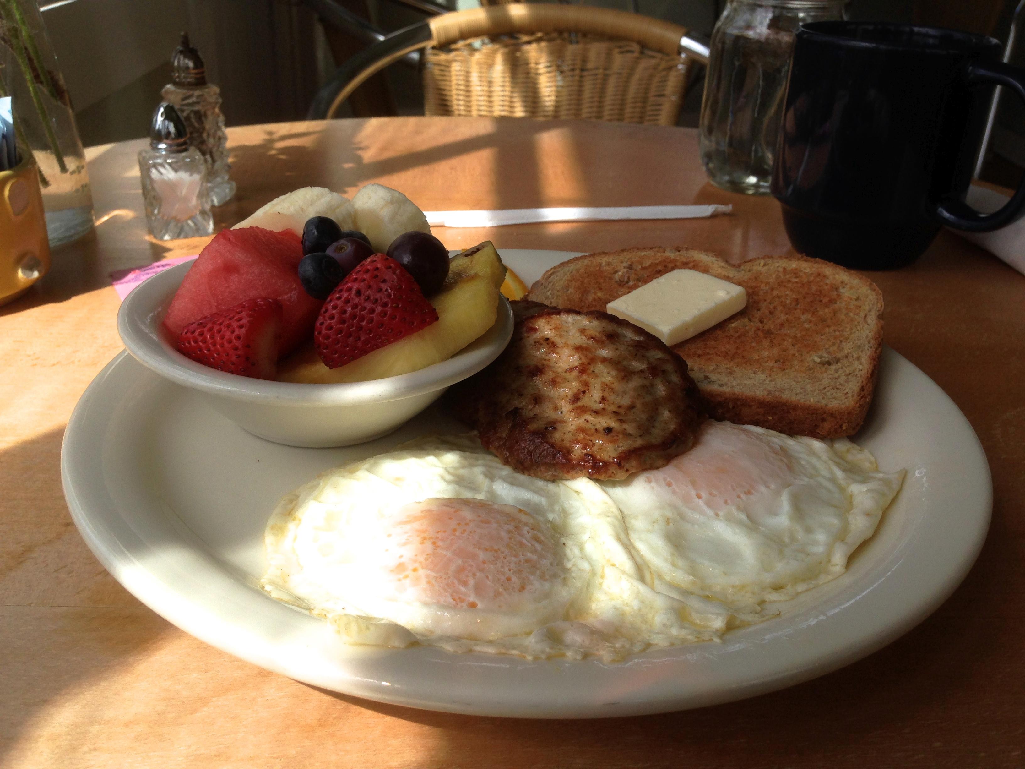 Домашний завтрак фото