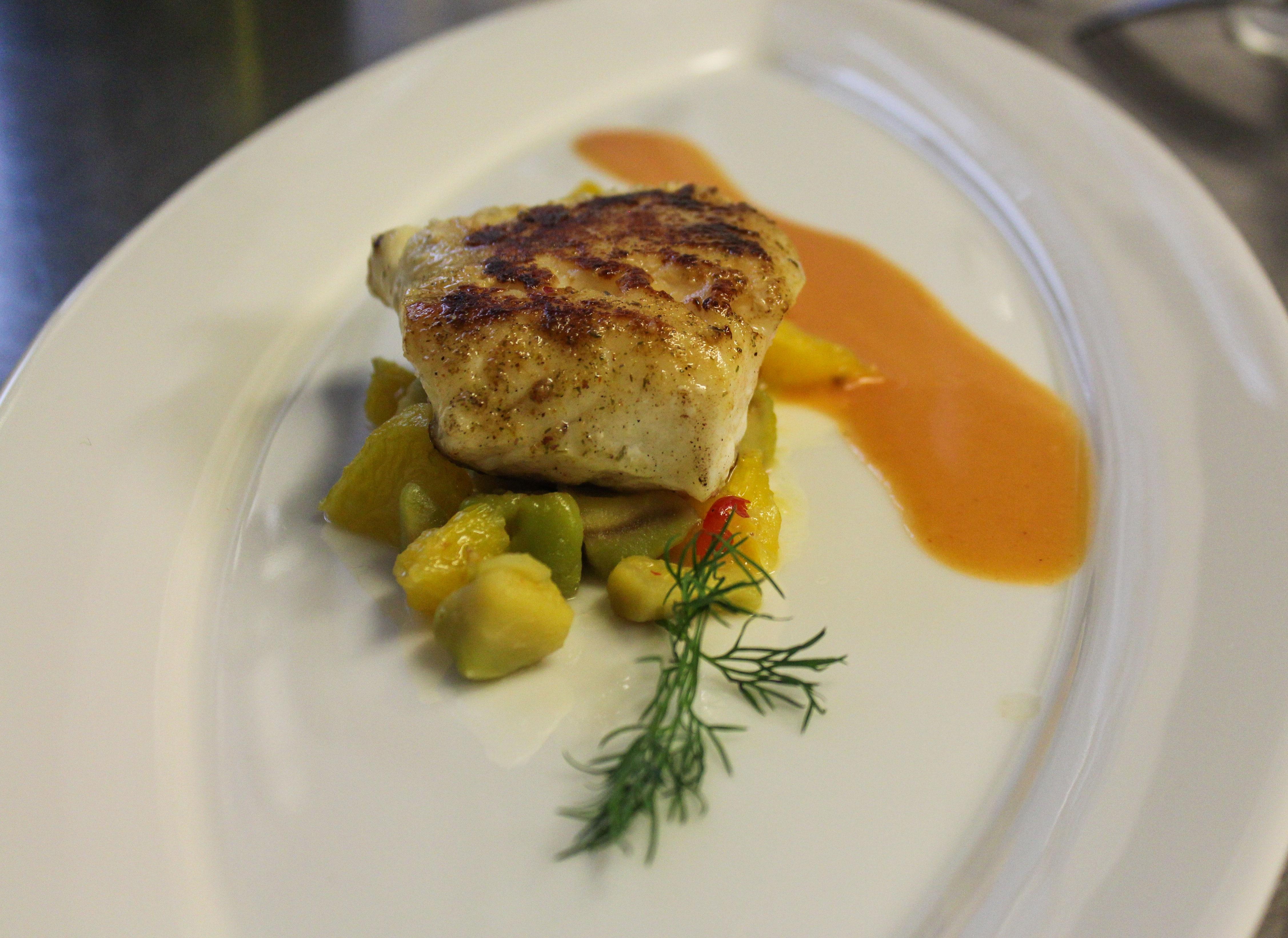 Images gratuites restaurant plat repas aliments produire l gume assiette poisson - Assiette secret de gourmet ...