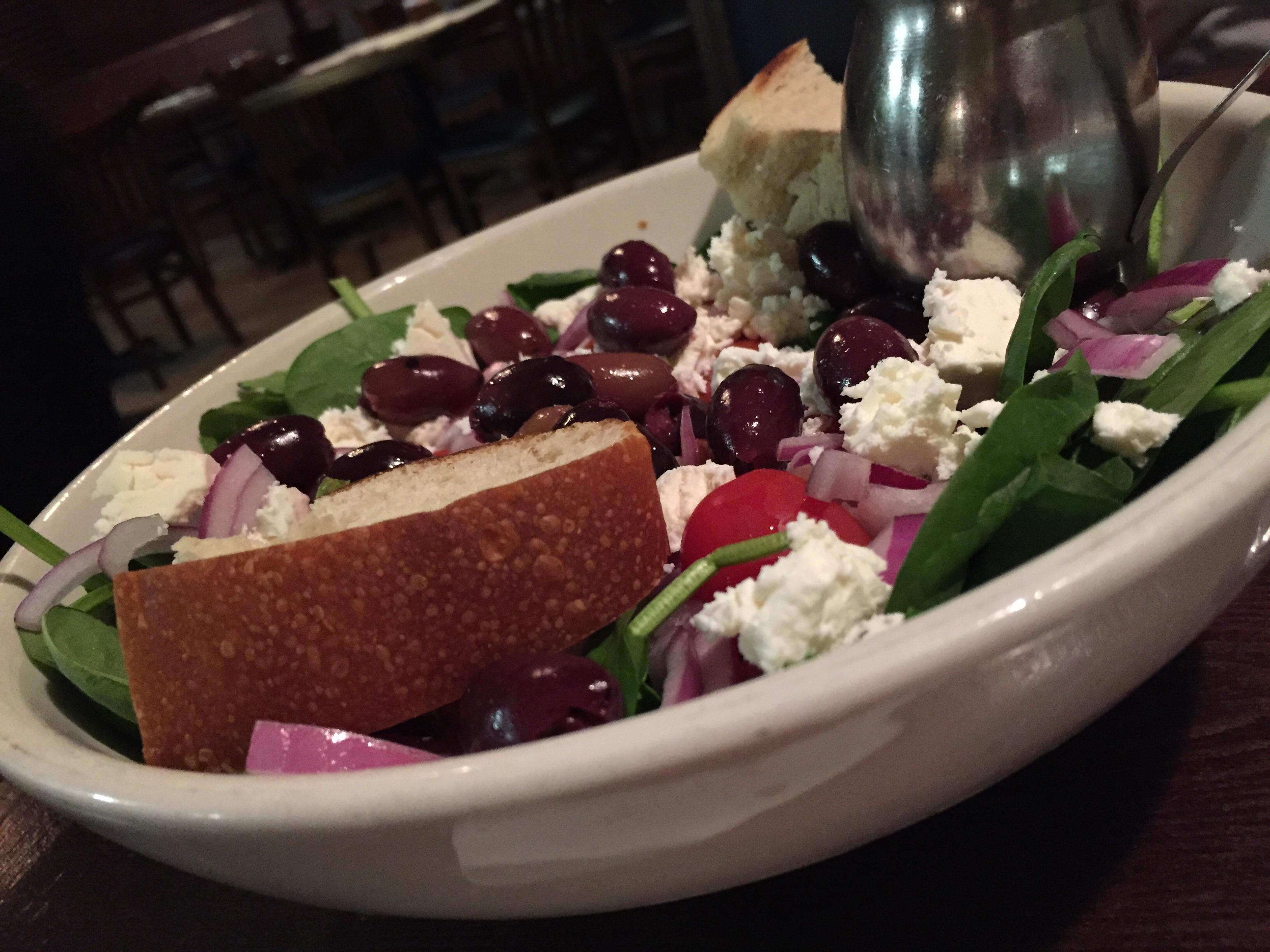 Bildet restaurant matrett m ltid mat salat gr nn gresk middelhavet pepper produsere - Healthy greek recipes for dinner mediterranean savour ...