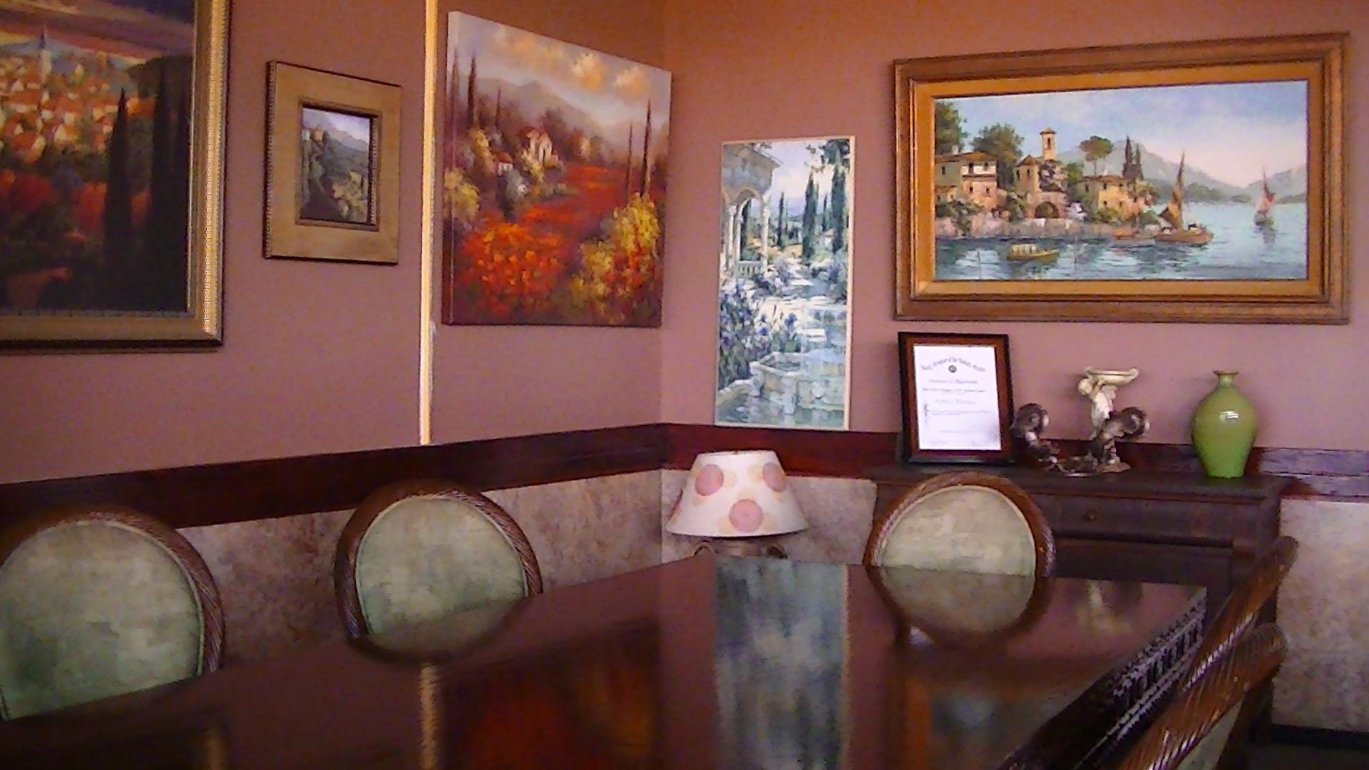 Gambar Restoran Rumah Dekorasi Milik Ruang Keluarga Kamar