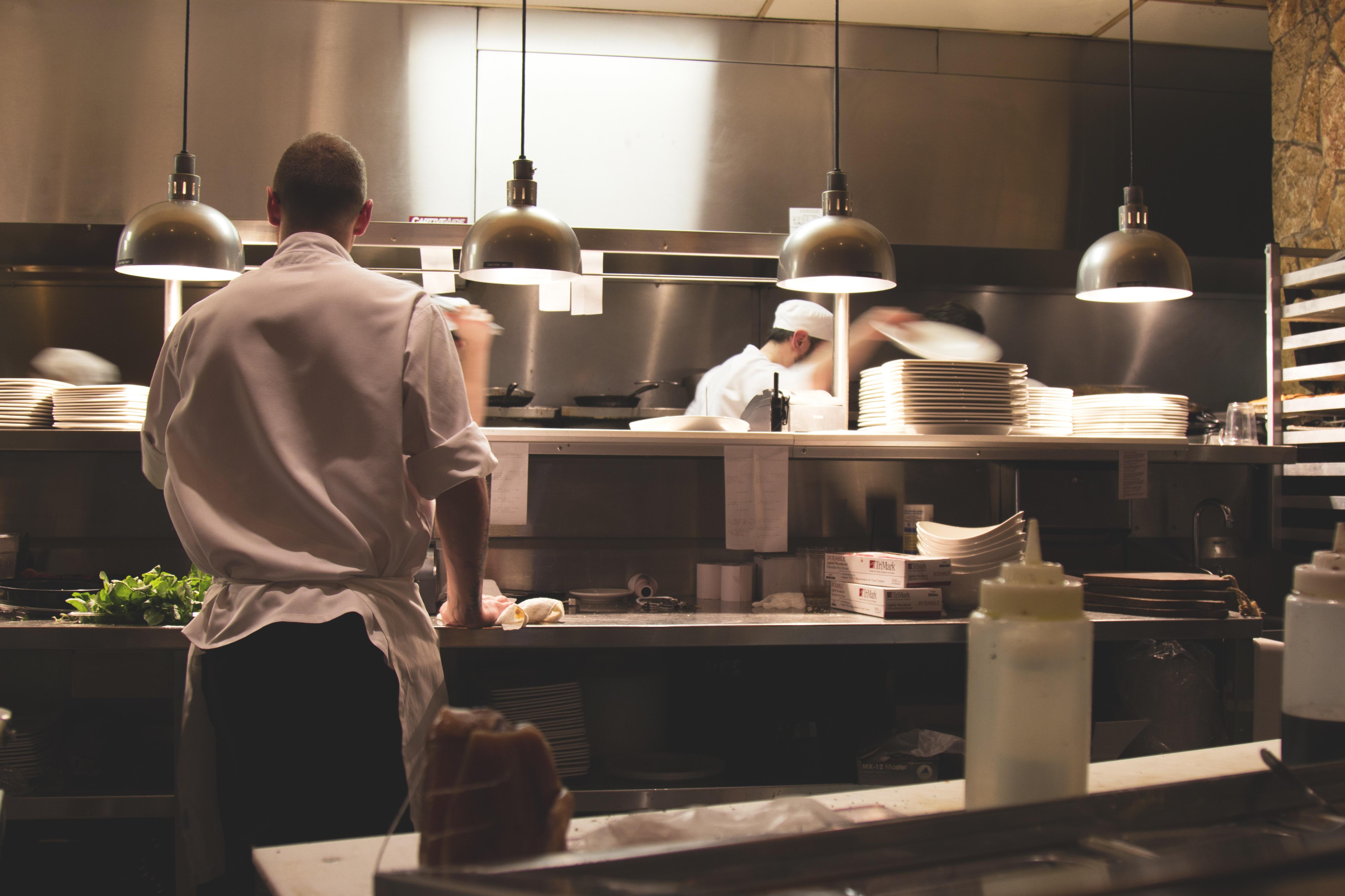 Gambar Restoran Makan Memasak Dapur Profesional Toko Roti