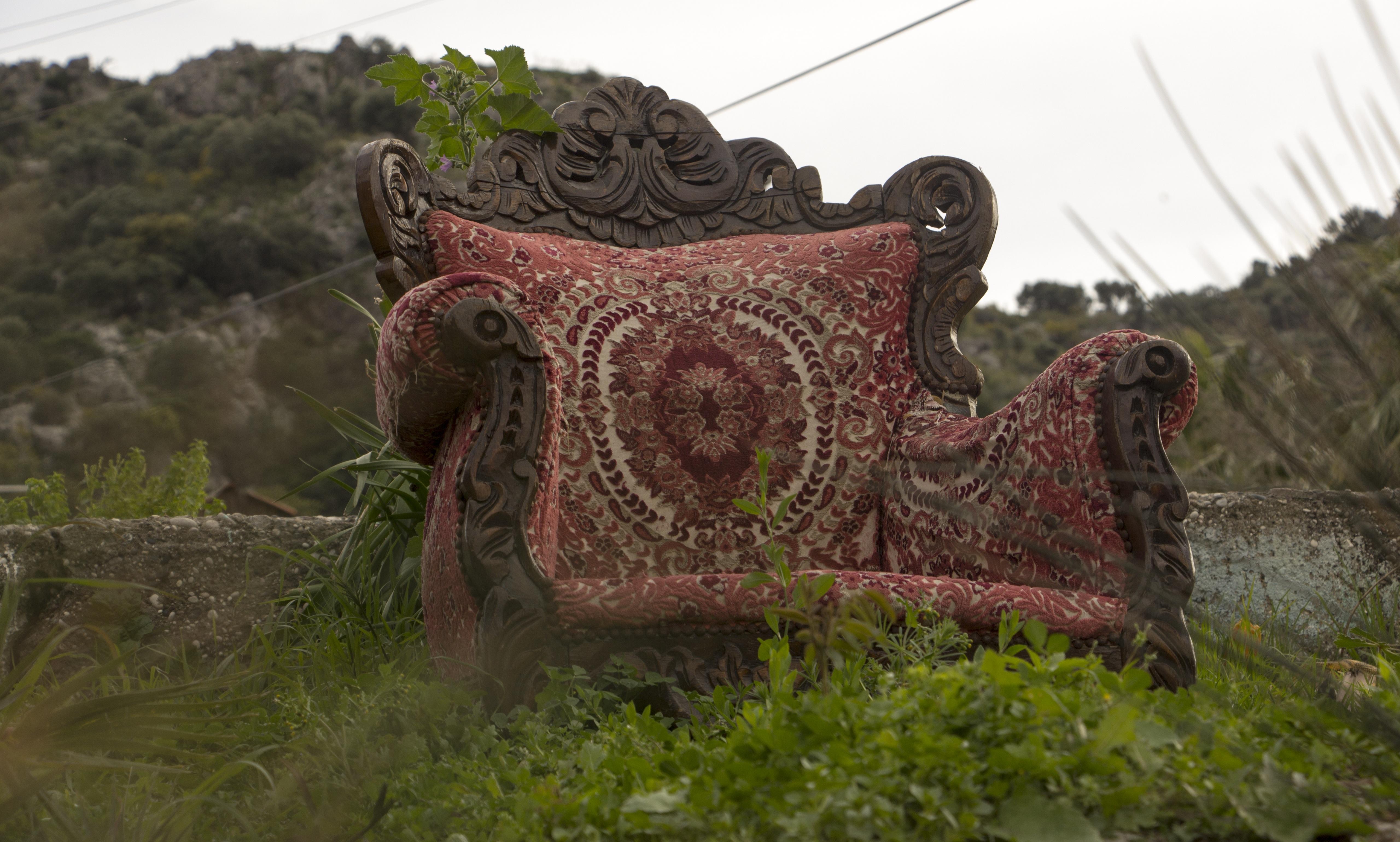 Fotos Gratis Retro Silla Antiguo Viajar Verde Selva  # Muebles Nauticos Antiguos