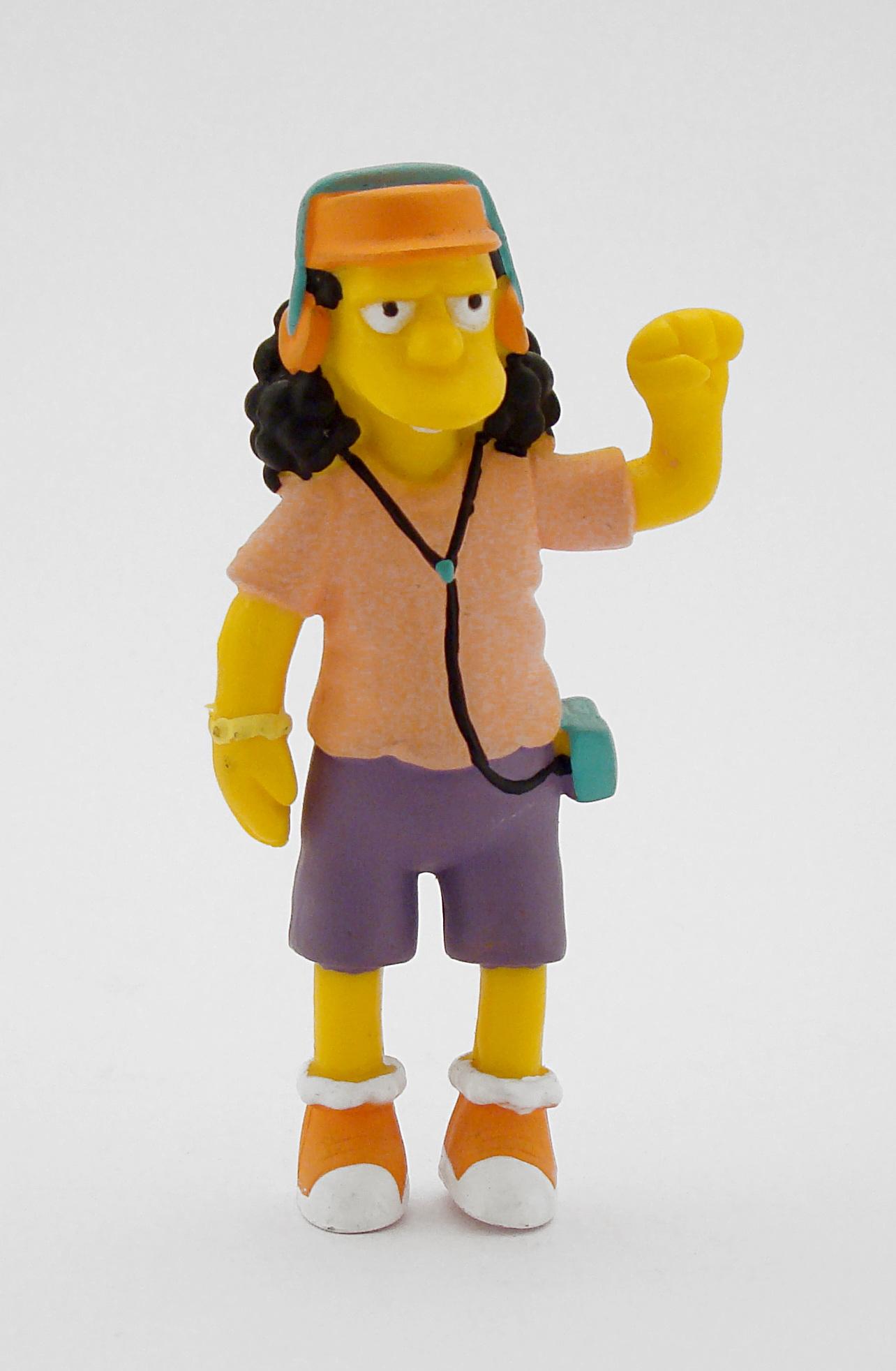 Gambar Retro Kuning Mainan Produk Arca Orang Orangan Salju