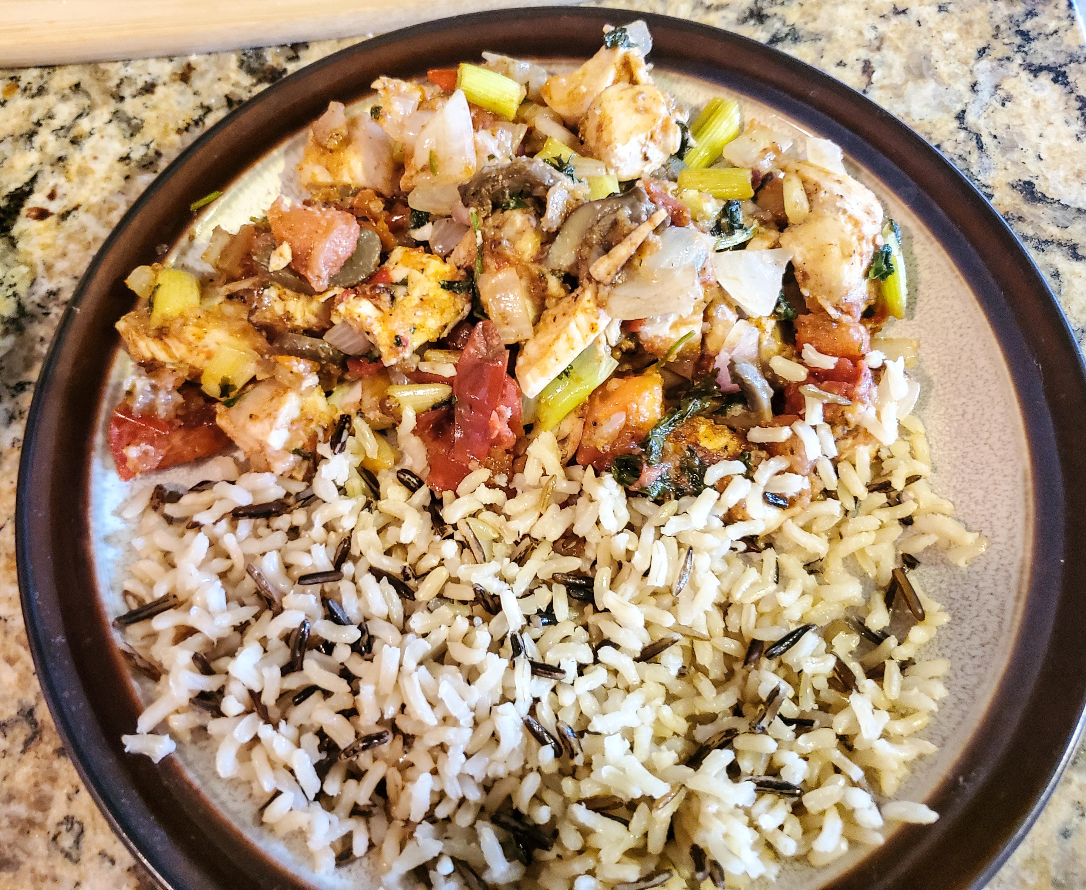 Gambar Hidangan Masakan Nasi Uap Bahan Takikomi Gohan