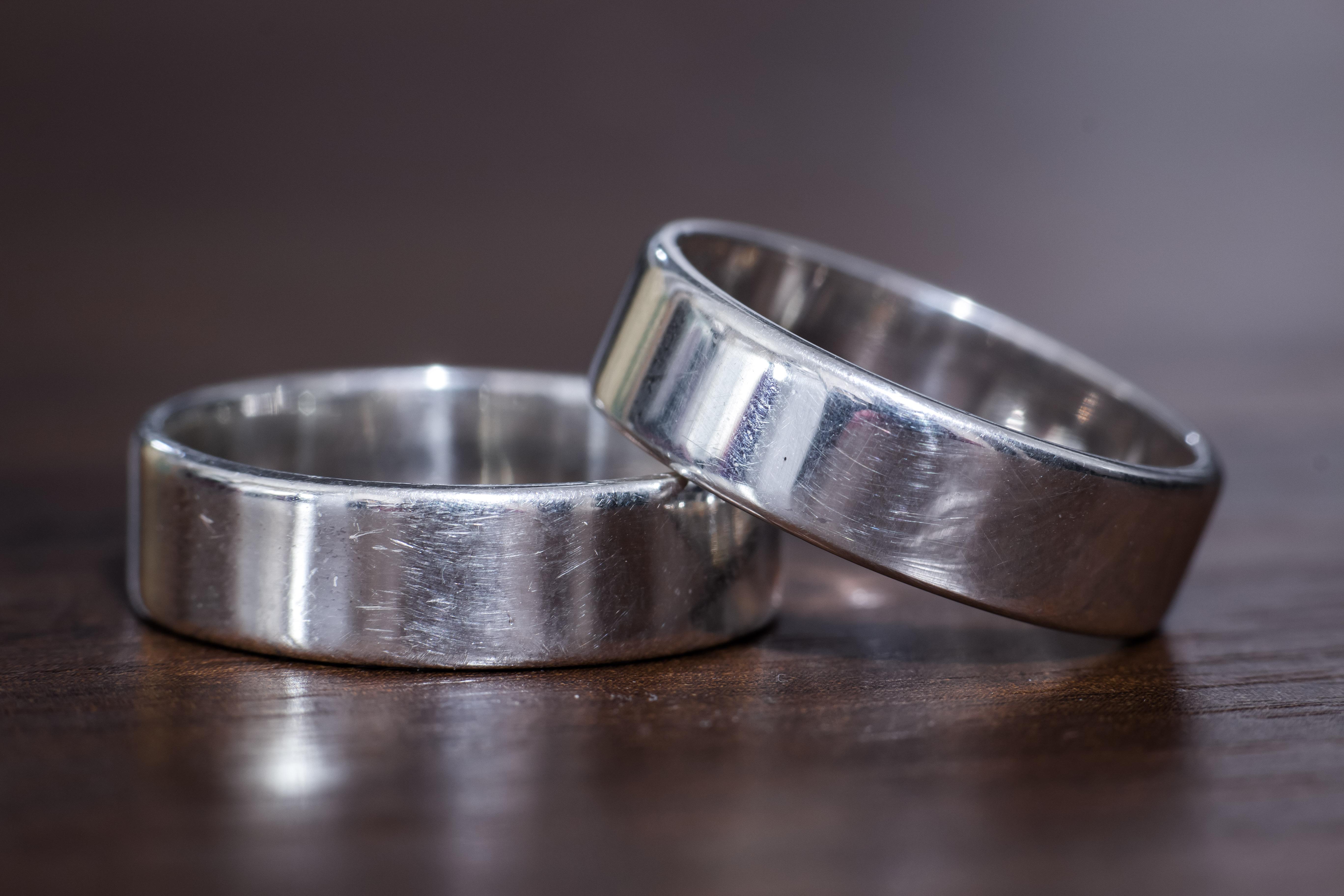 Poze Inele Metal Accesoriu De Moda Bijuterii Verigheta Argint