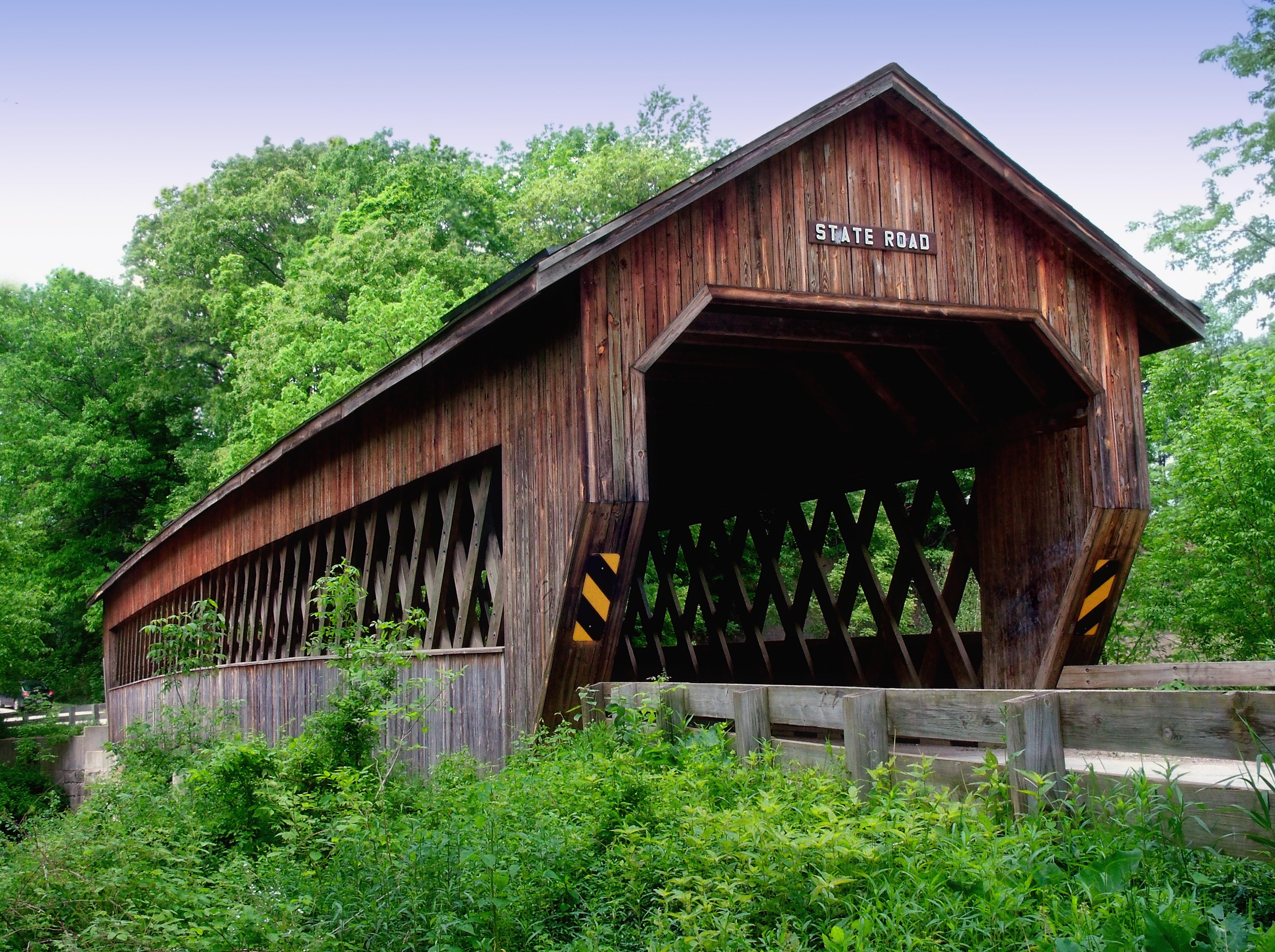Ohio covered bridges pictures The Ghosts of Ohio - Lore Legends in Ohio - Boston