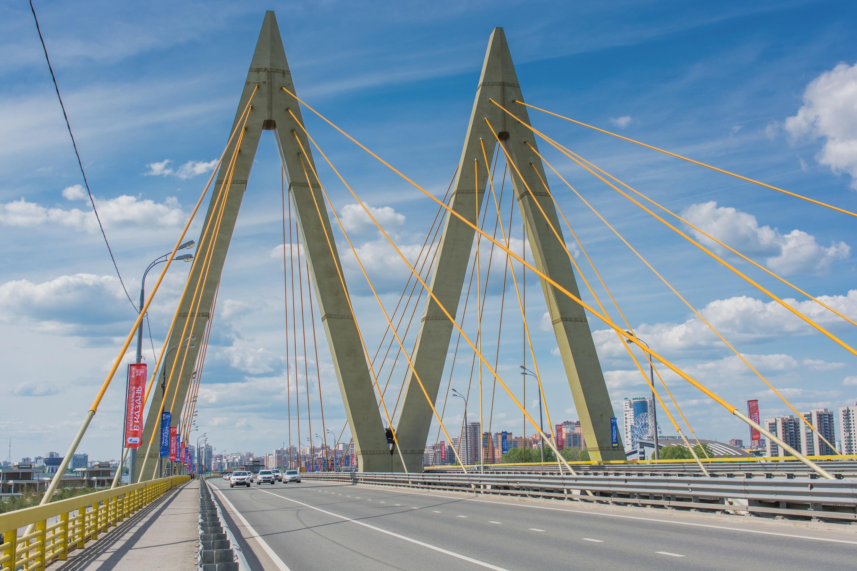 Hình Ảnh : Đường, Cầu Treo, Hàng, Cột Buồm, Mốc, Thiên Niên Kỷ, Kazan, Cầu  Dây Văng, Cấu Trúc Nonbuilding 3000x2000