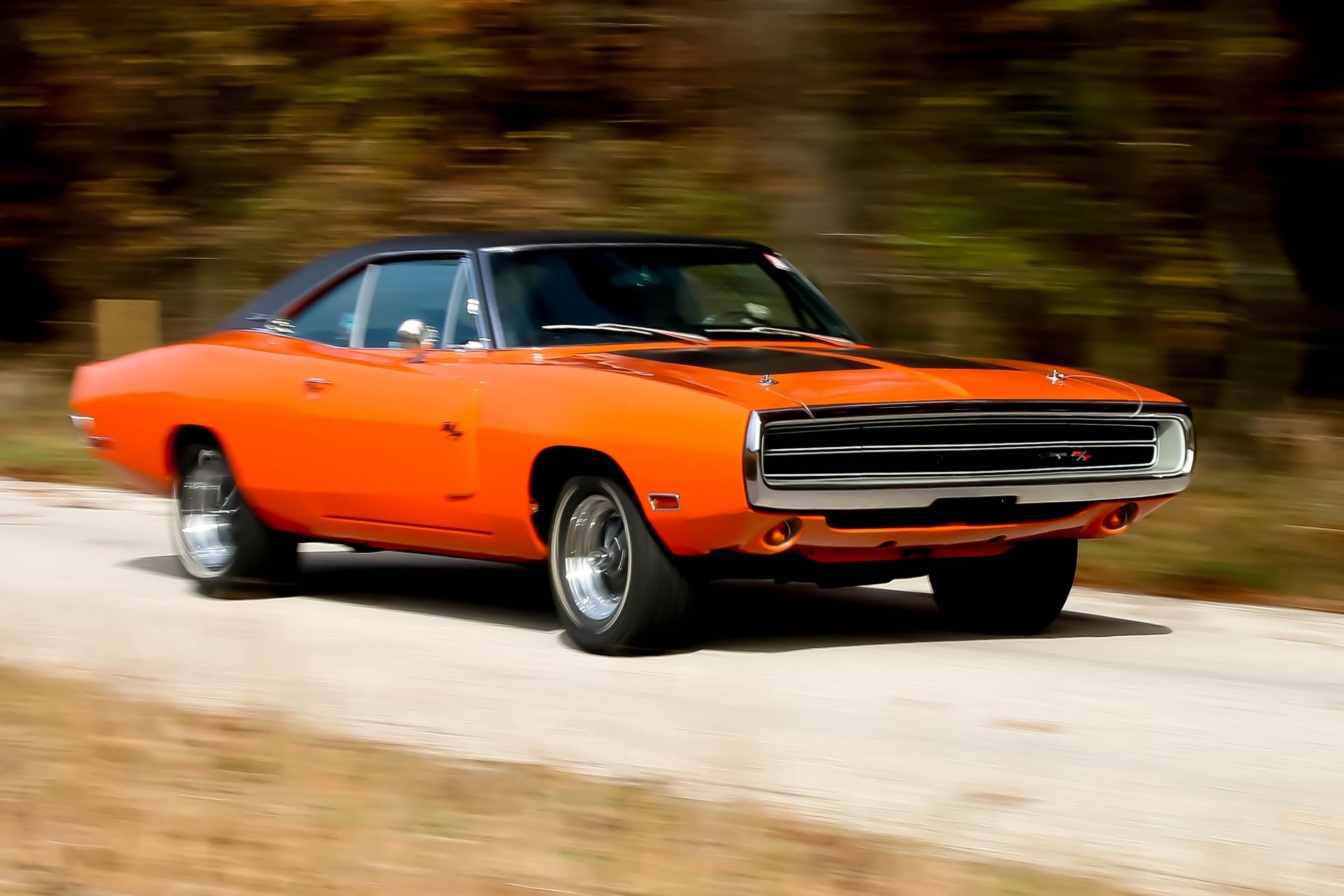 Free Images Road Motion Orange Muscle Car Dodge Charger Land