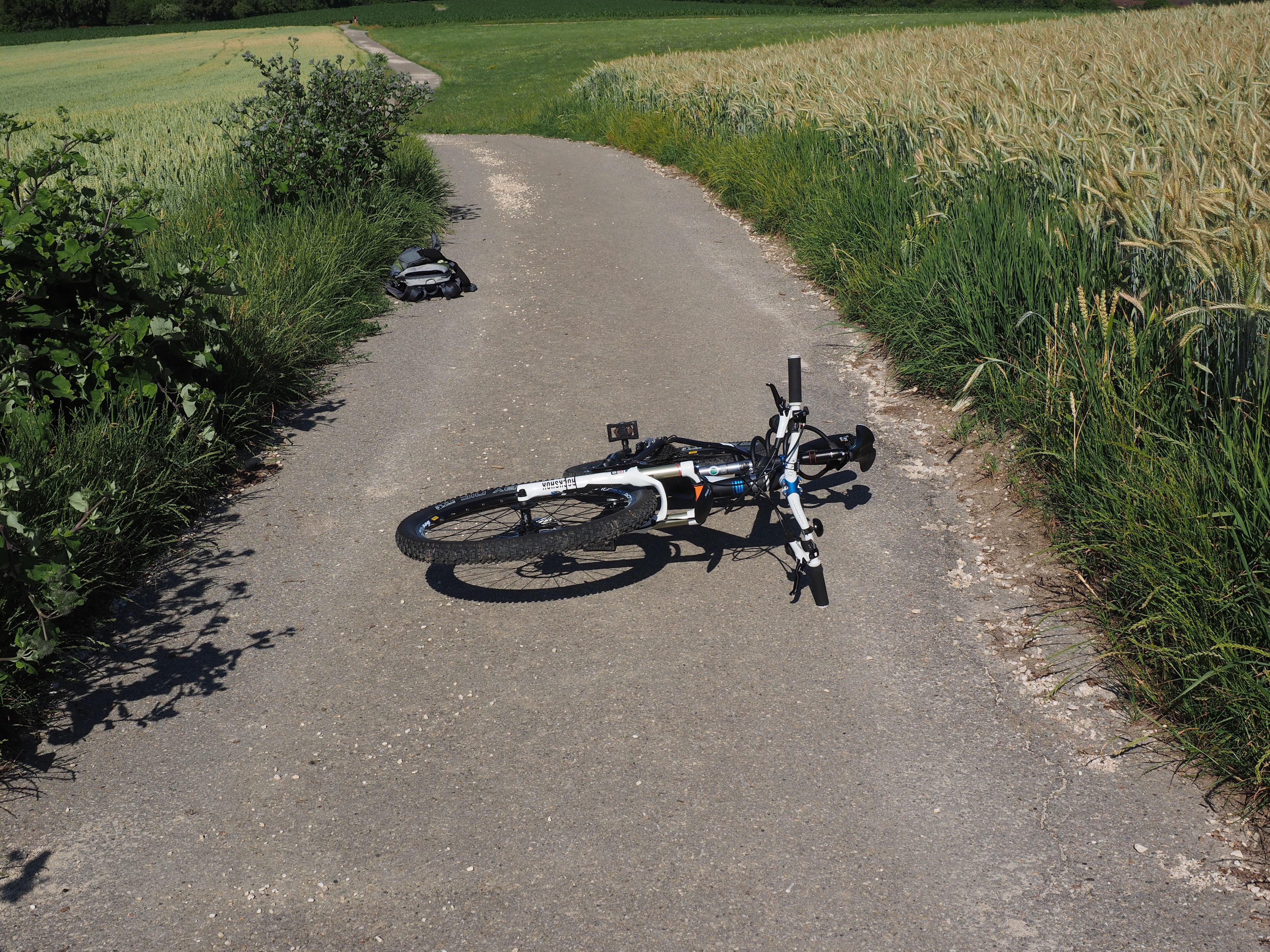 Free Images : fall, bicycle, asphalt, vehicle, motorcycle, soil ...