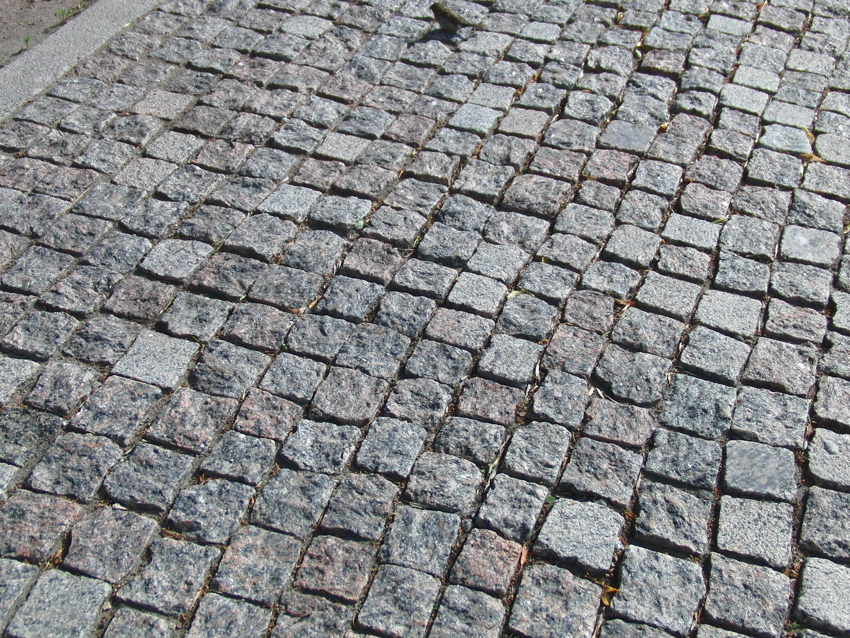 Kostenlose foto b rgersteig stock dach kopfstein for Boden ziegel