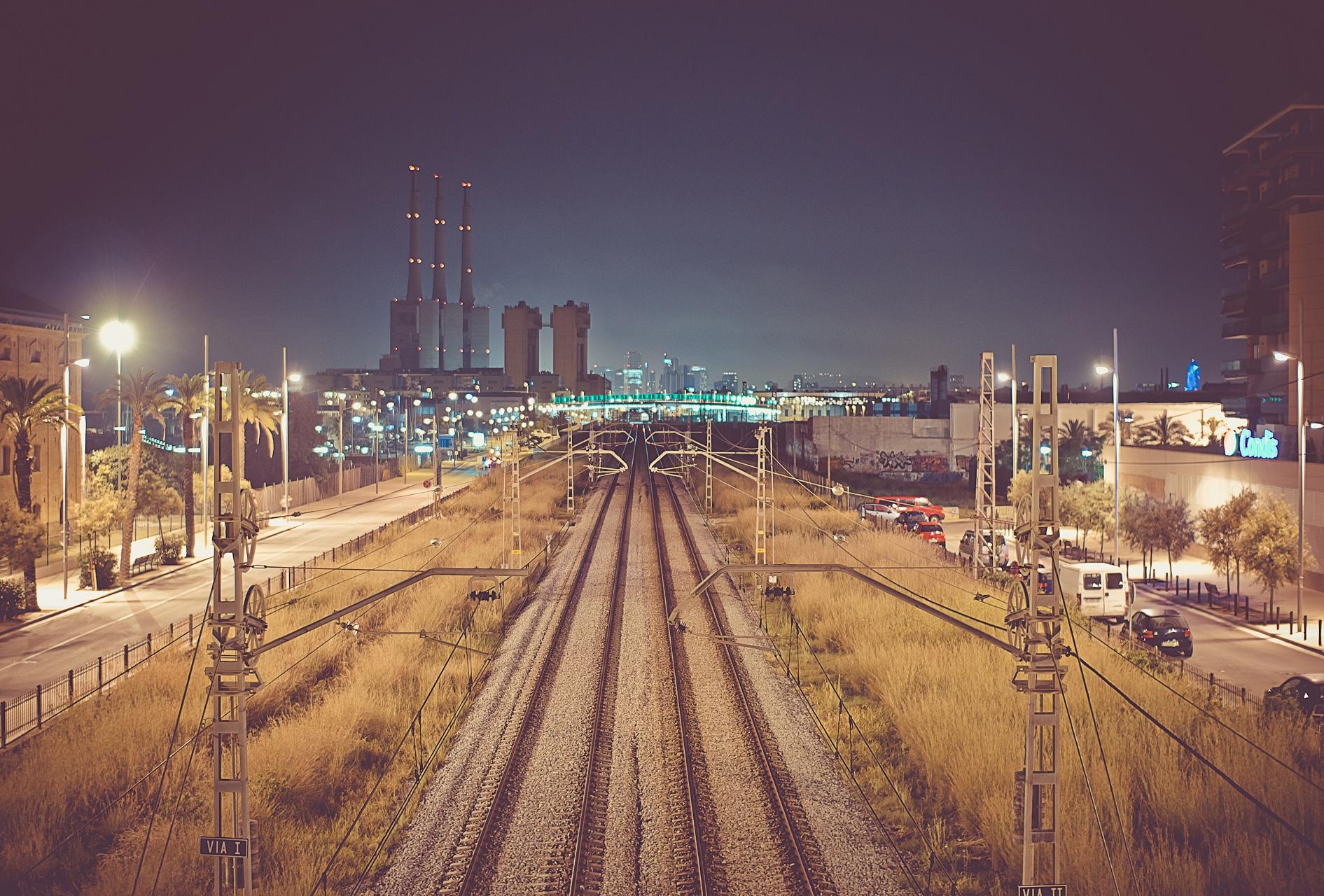 картинки ночной город железнодорожный фото сделать томатный