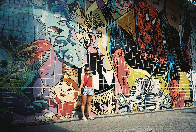 Fotoğraf Yol Sokak Duvar Yazısı Boyama Sokak Sanatı Sanat