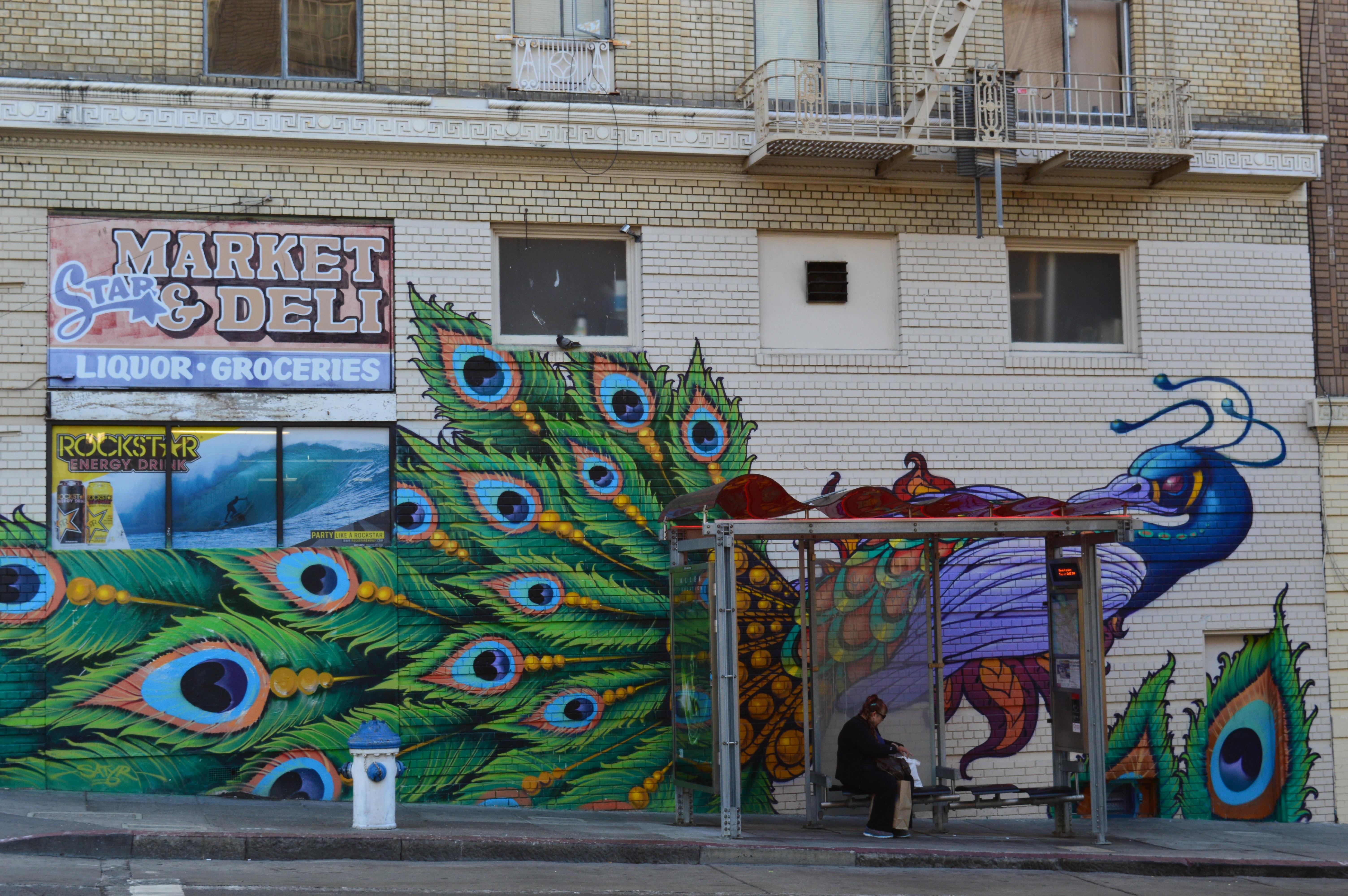 Fotoğraf Yol Sokak Sanatçı Duvar Yazısı Sokak Sanatı Sanat