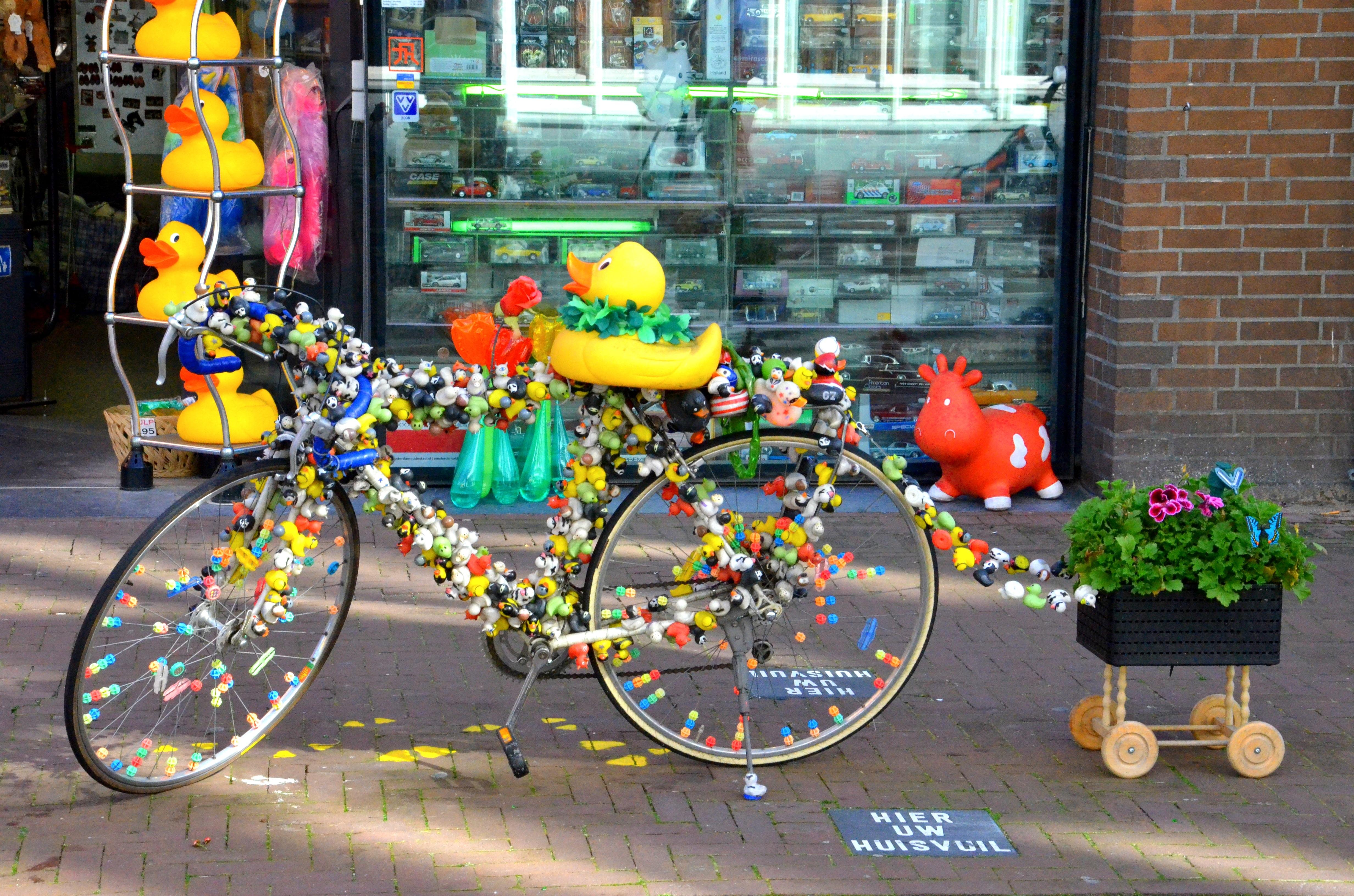 Images gratuites route rue roue fleur v lo - Velo decoration ...