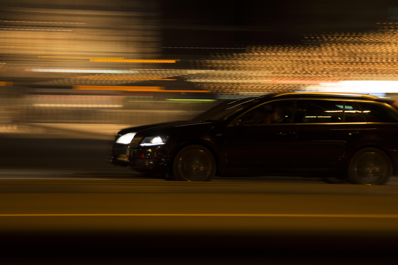 Images Gratuites Route Circulation Nuit Roue