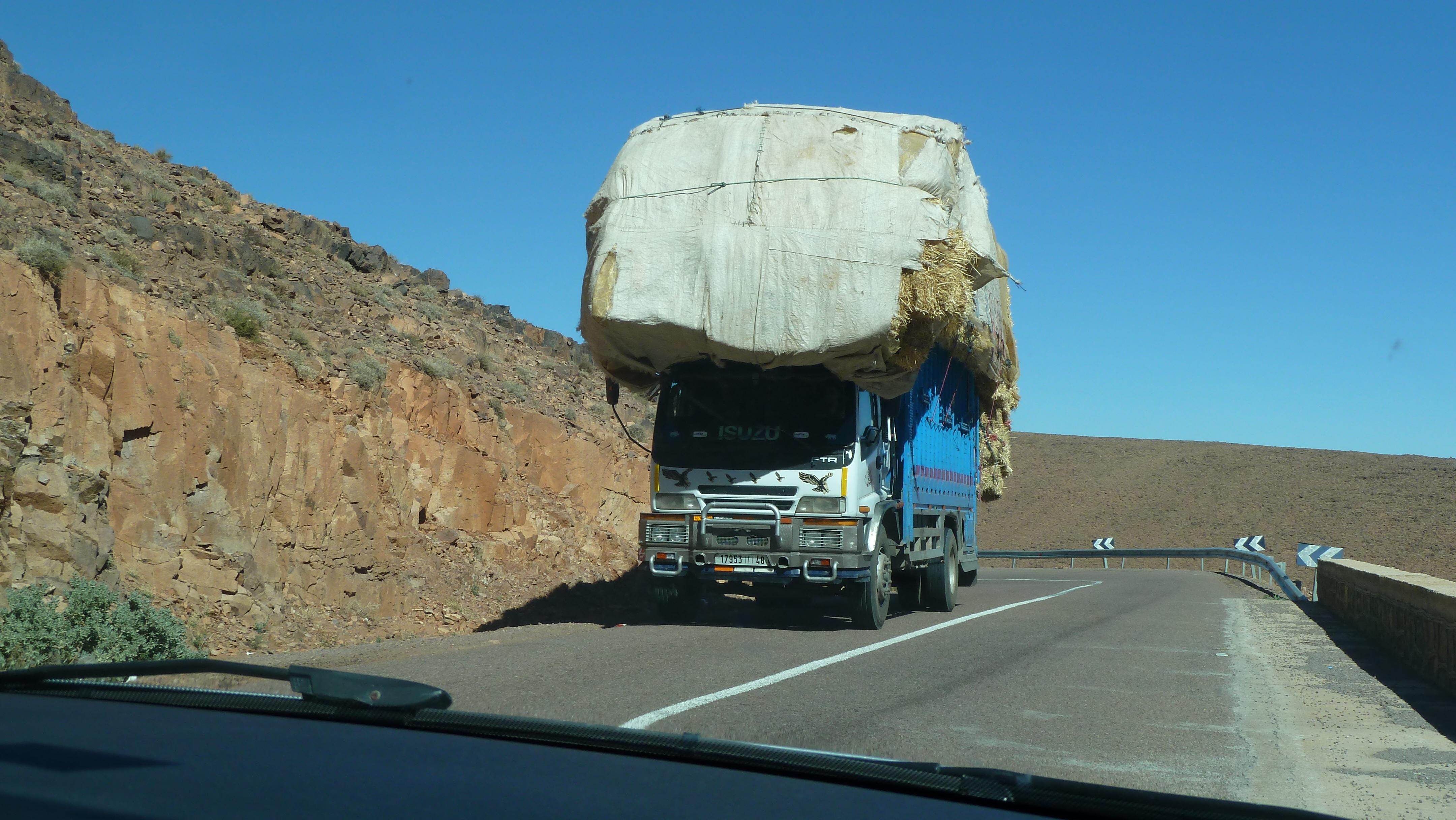 voyage maroc voiture
