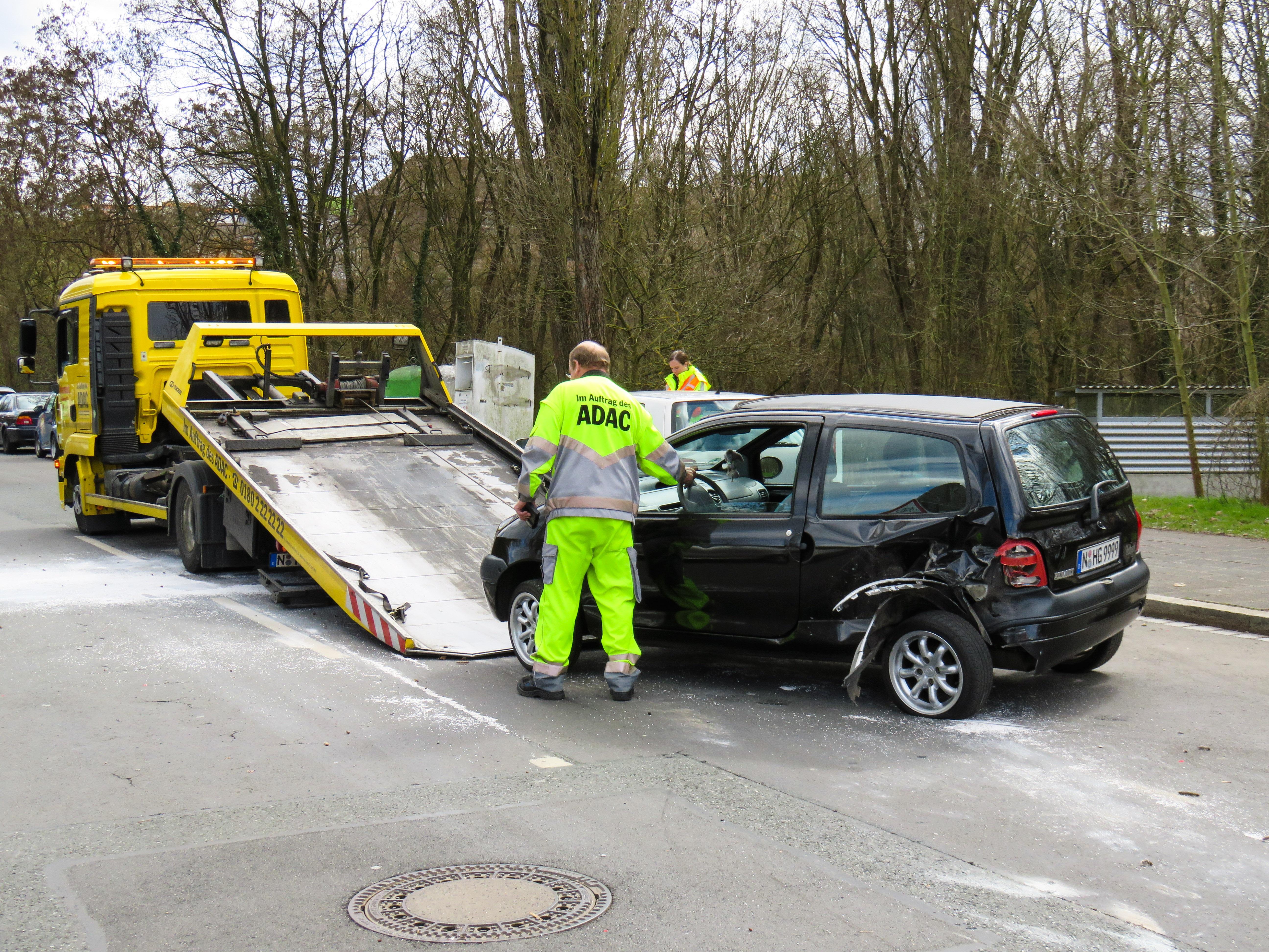 Free Images : road, workshop, asphalt, transport, broken, help ...