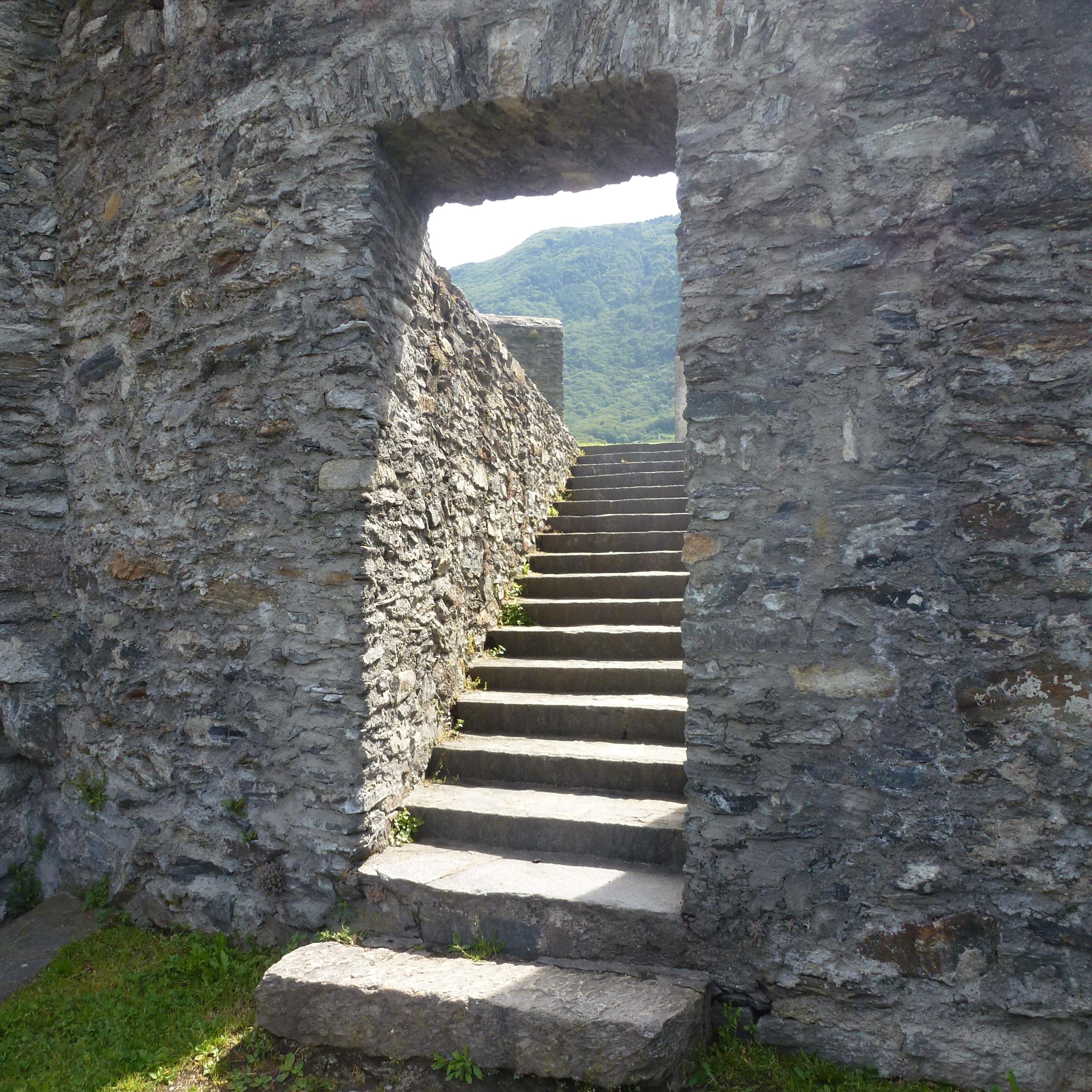 Images Gratuites : Roche, architecture, bâtiment, mur, escalier ...