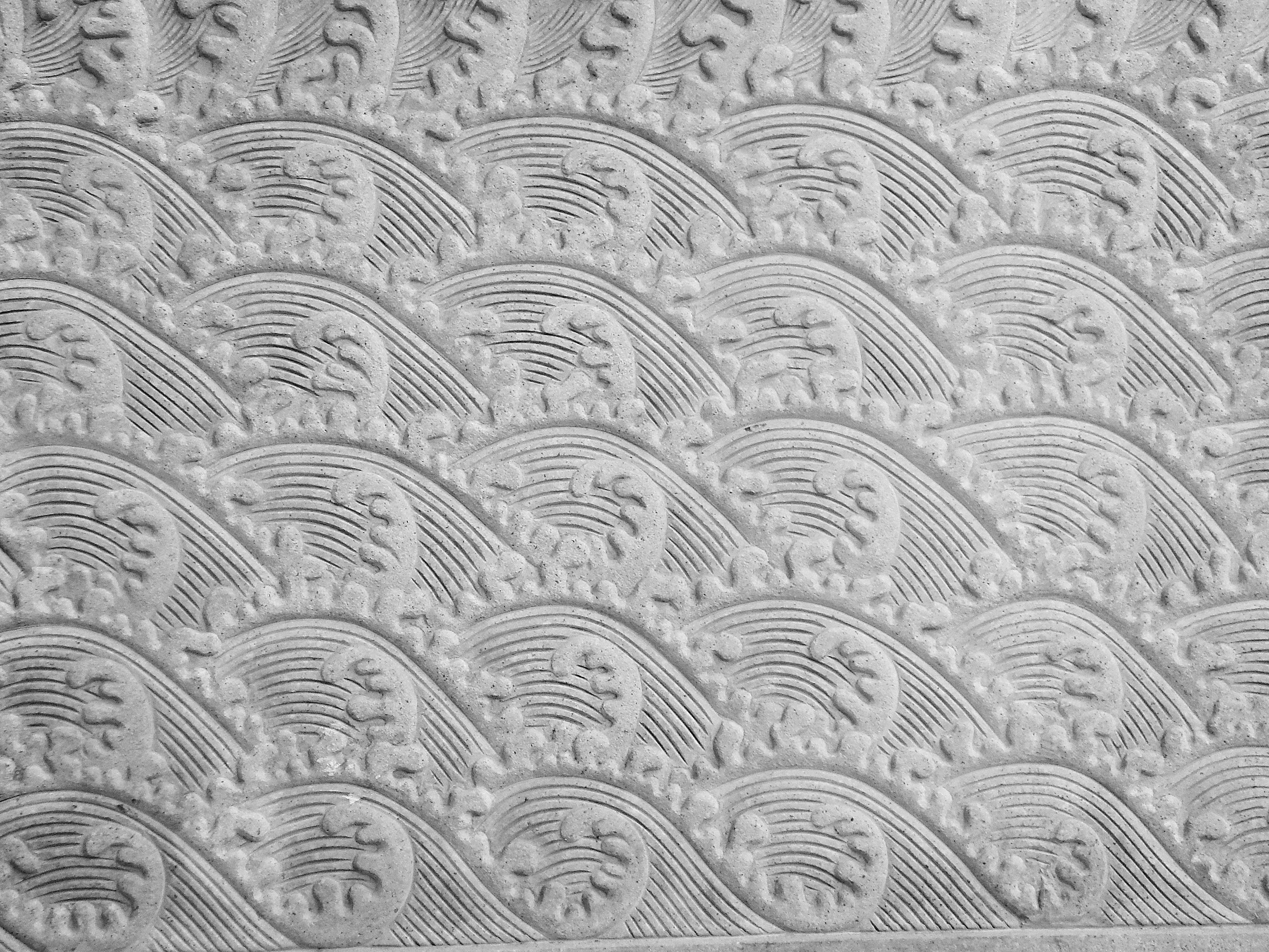 rock en blanco y negro textura piso piedra decoracin patrn lnea antiguo azulejo monocromo circulo escultura