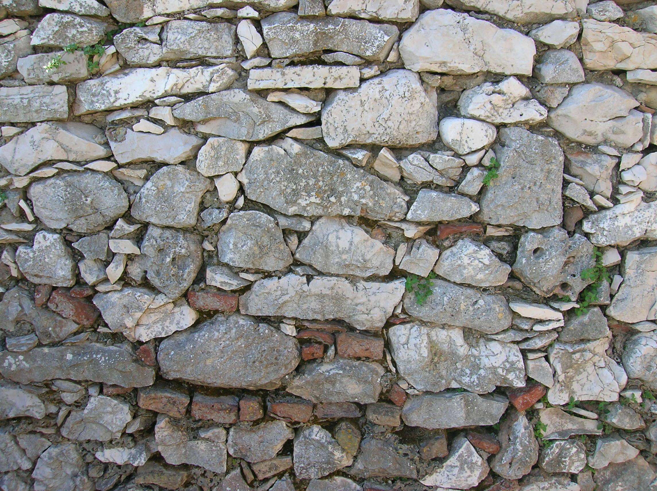 Fotos gratis rock edificio guijarro pared asfalto - Pared de piedra ...
