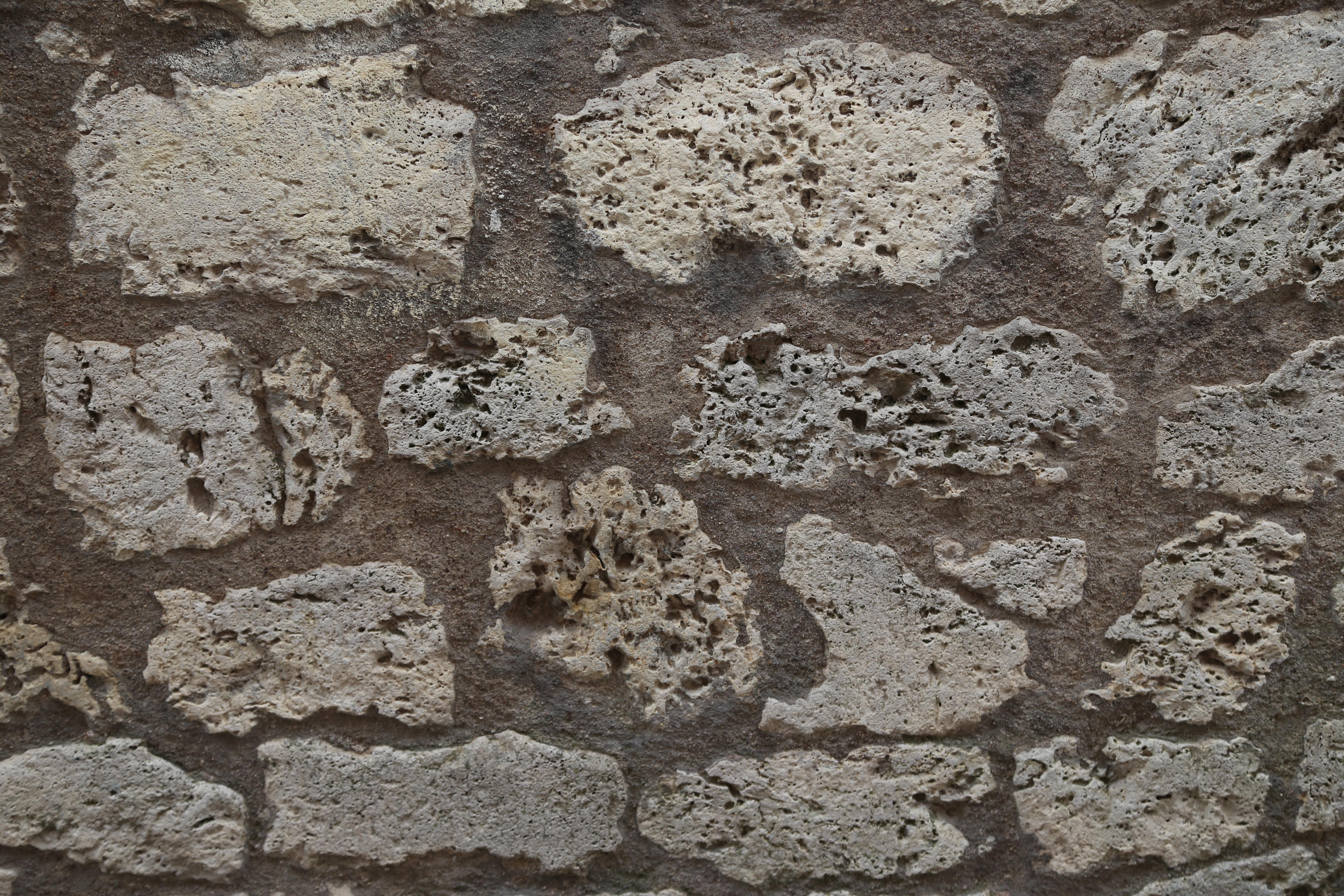 Pompeii: opus vittatum mixtum   A wall of opus vittatum ...   Ancient Rubble Stone