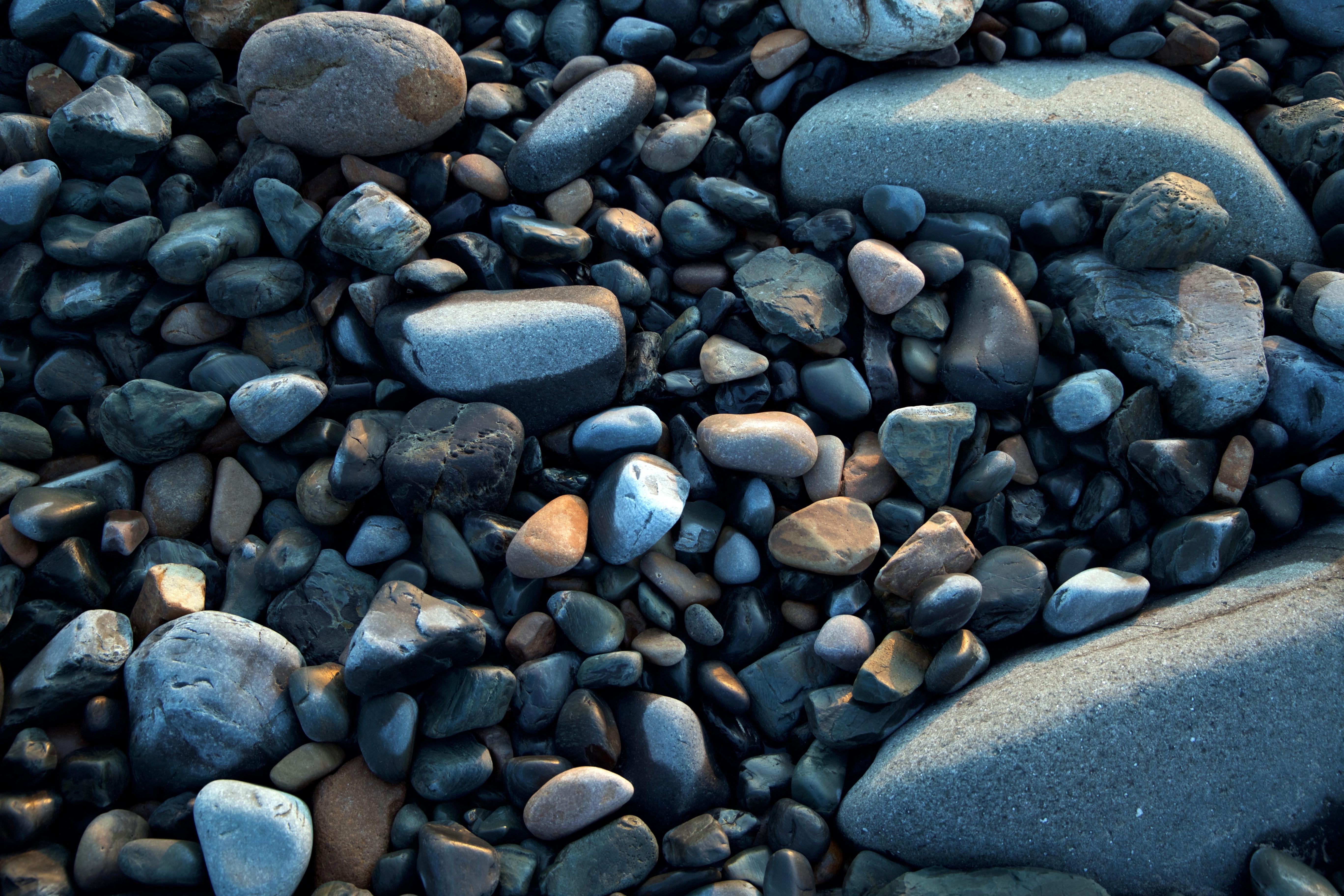 Free Images : rock, pebble, soil, blue, material, rocks