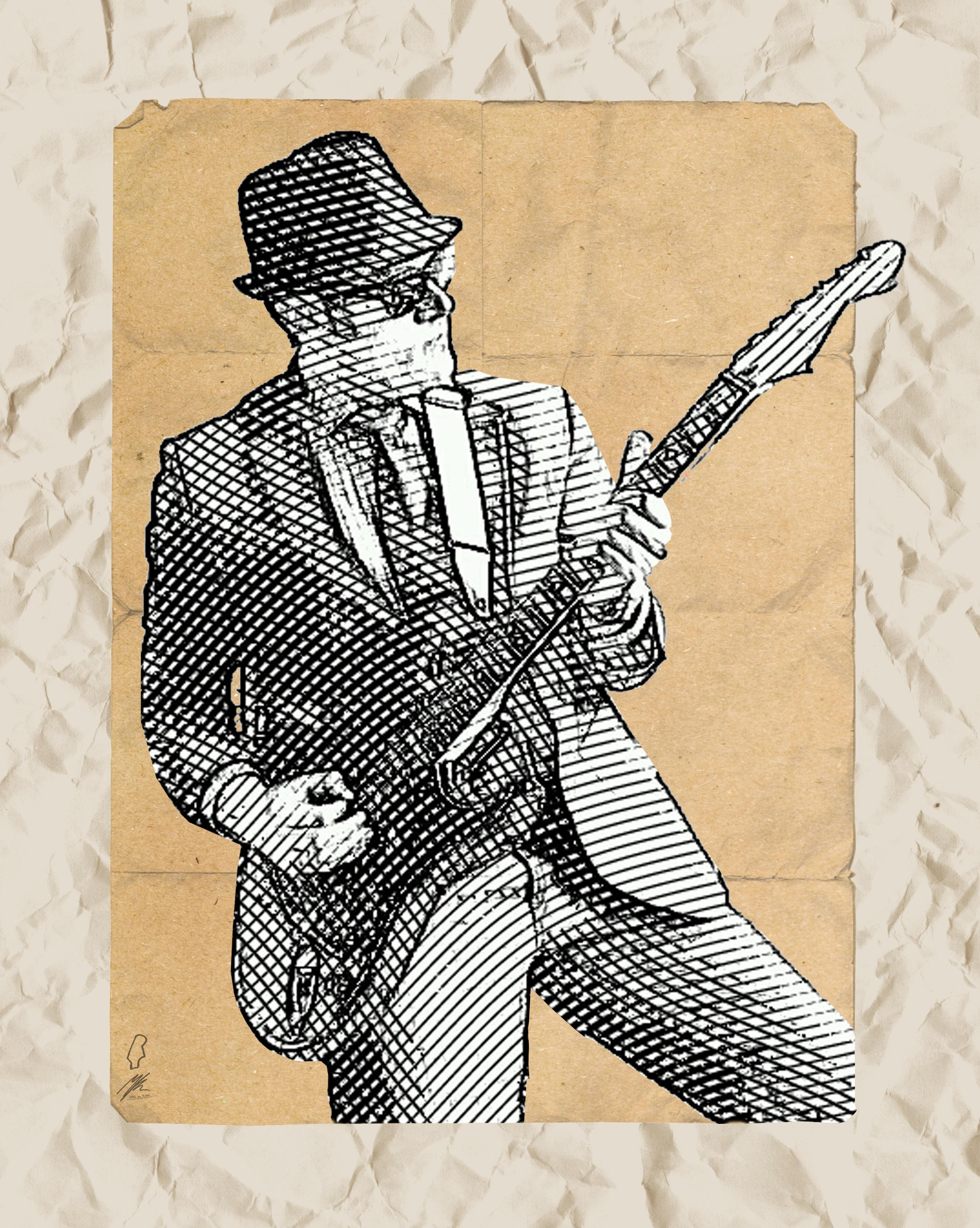 Kostenlose foto : Rock, Silhouette, Musik-, Muster, Jung, Musiker ...