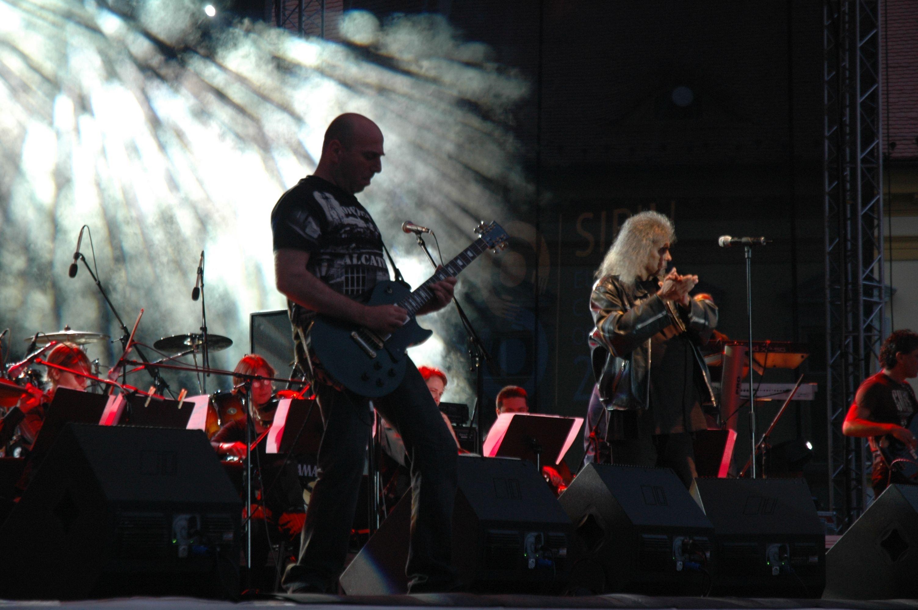 free images rock silhouette music play guitar smoke