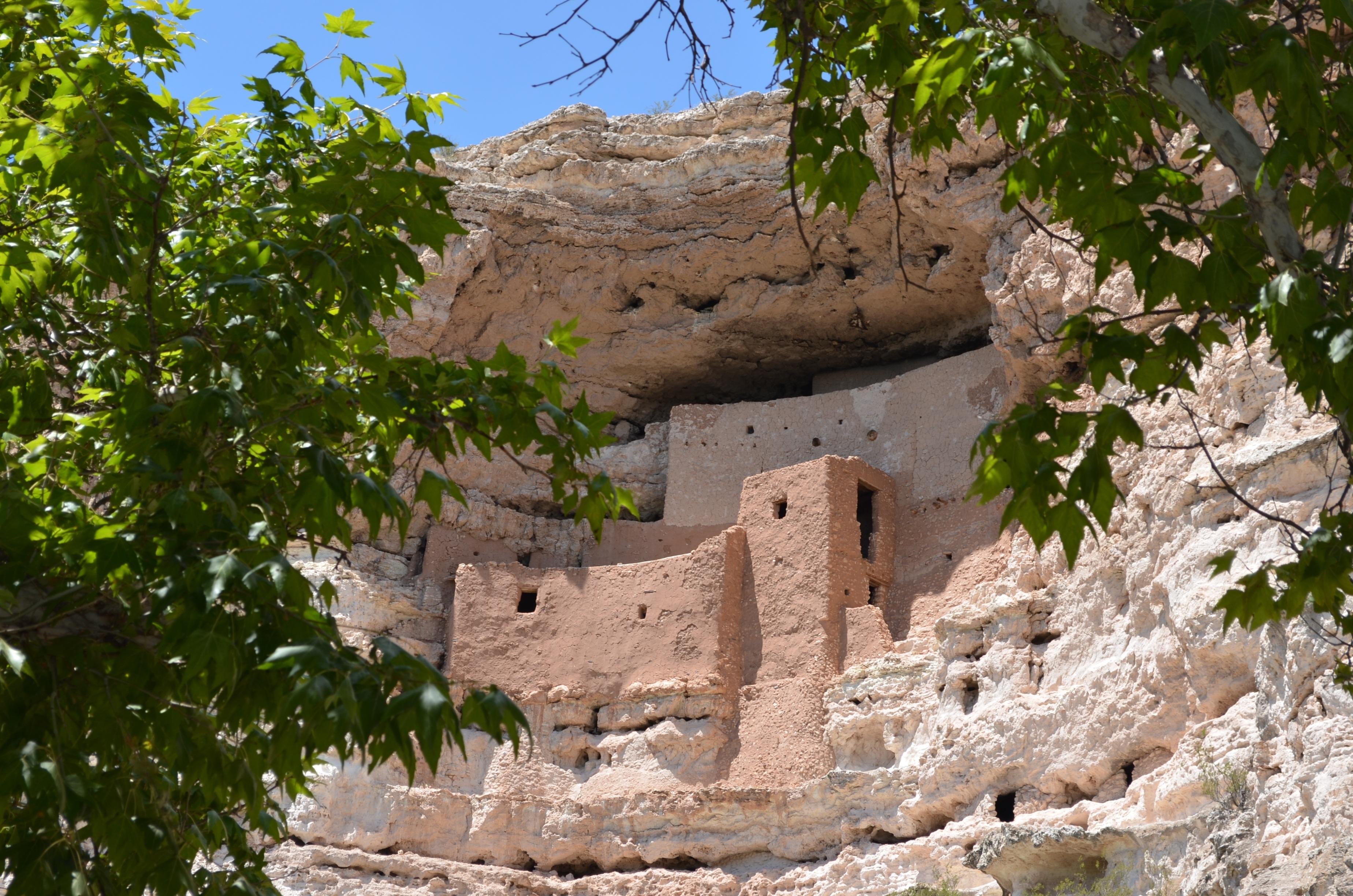 free images rock village cave arizona ruins monastery