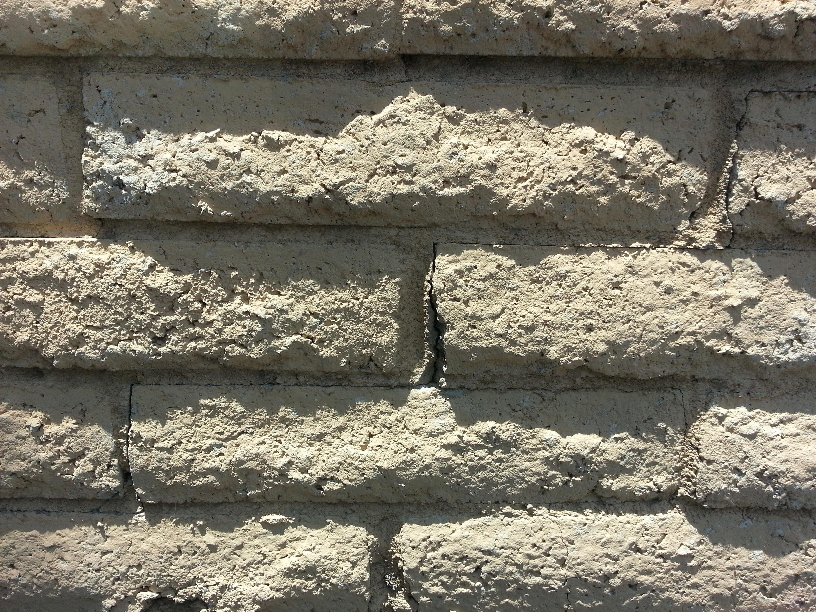 rock blanco pared sombra suelo exterior pared de piedra ladrillo material bloquear escombros pared de ladrillo