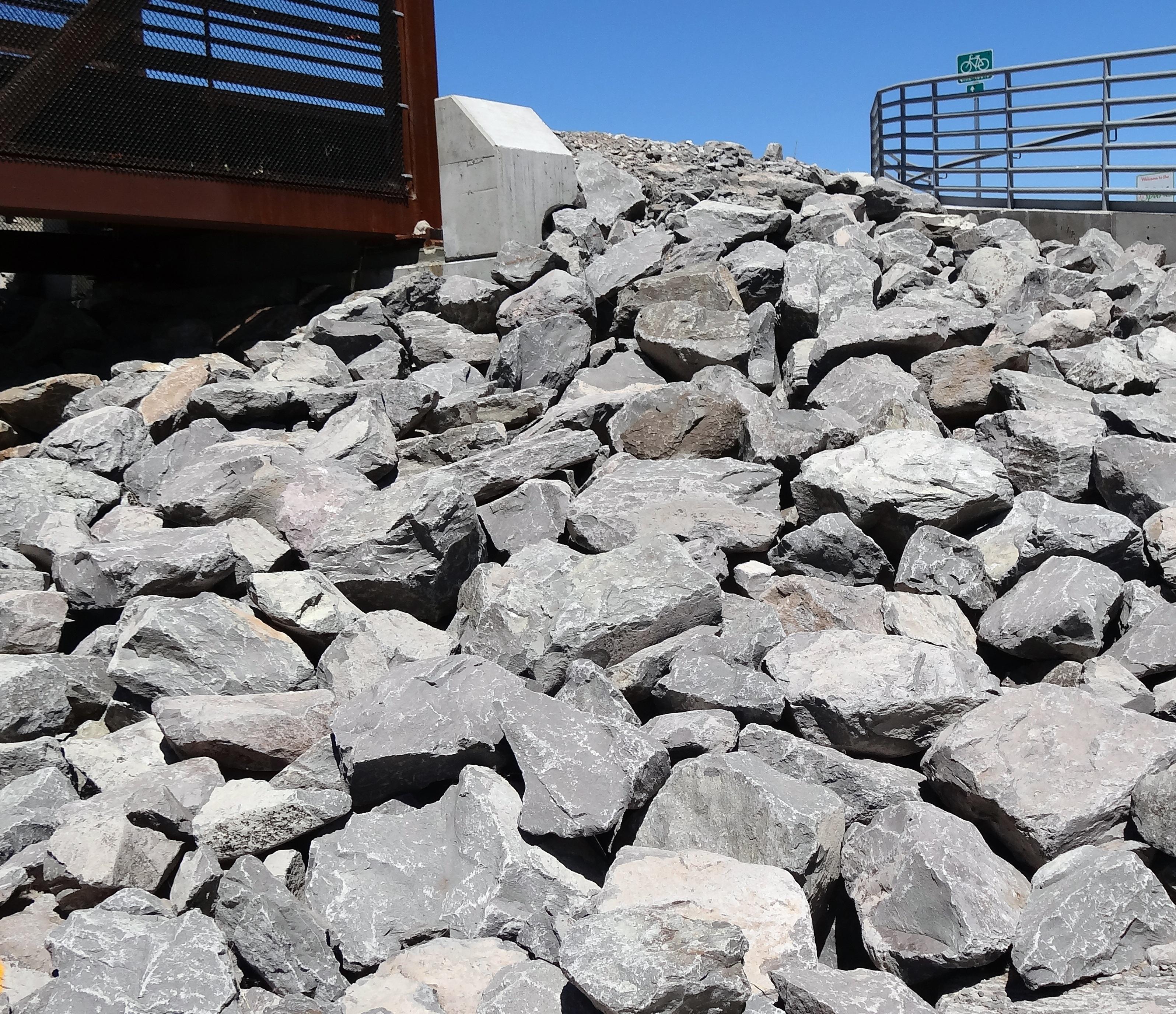 Gambar Batu Granit Bahan Kerikil Konstruksi Batuan