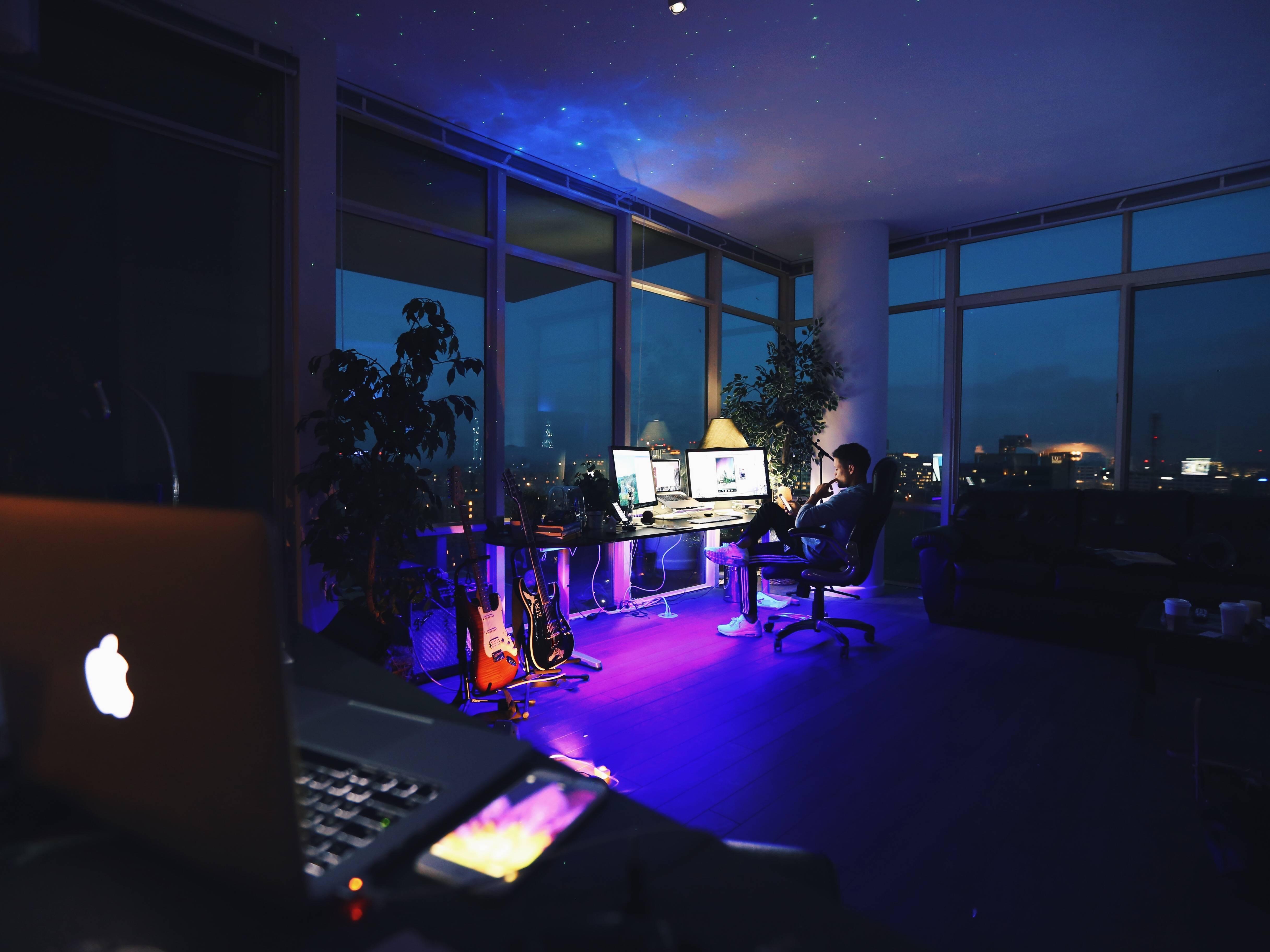 Fotos gratis habitaci n iluminaci n escenario captura - Habitacion iluminacion ...