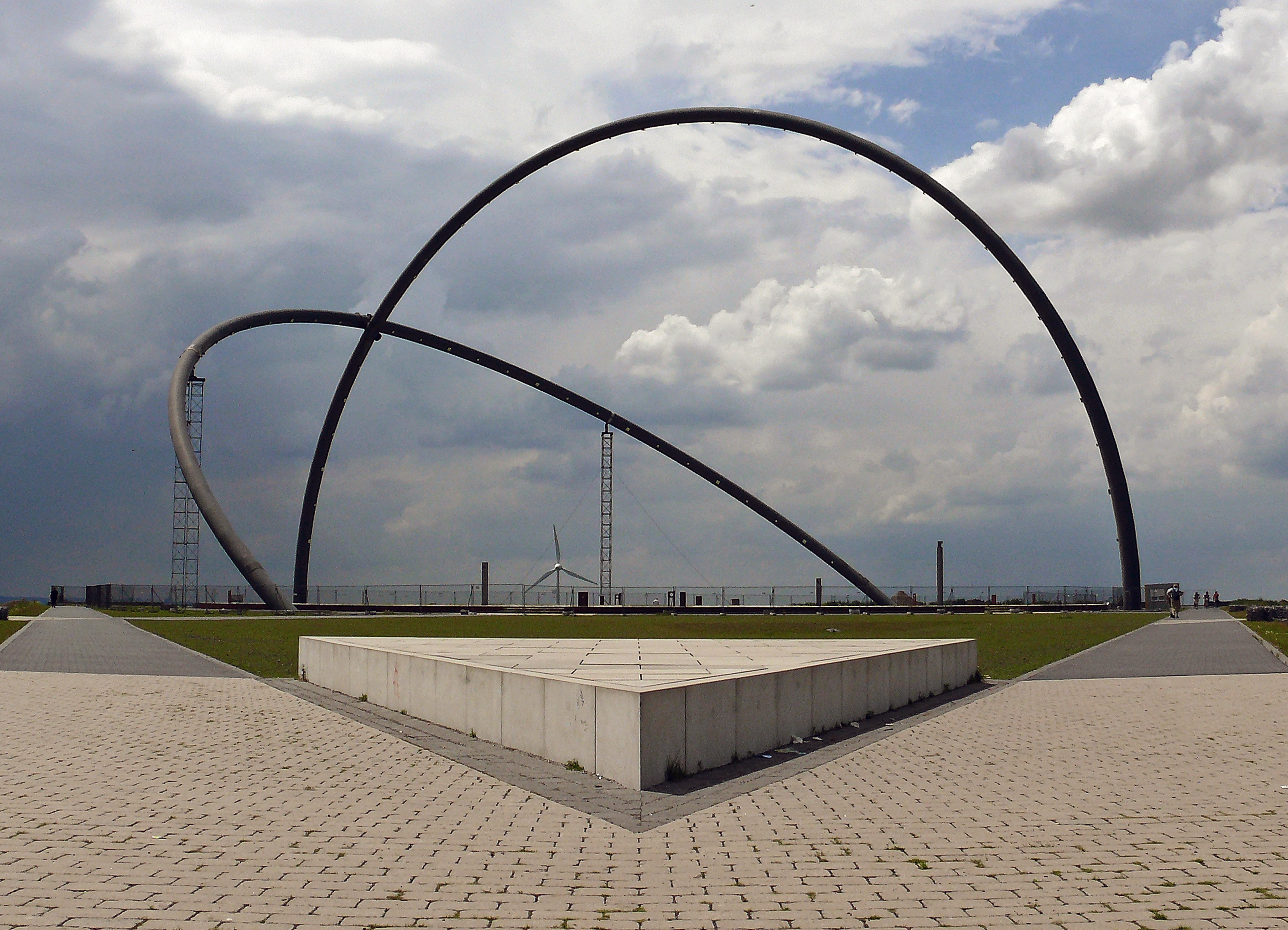 Cát Kiến Trúc Cầu Tượng Đài Kiến Trúc Hàng Ruhr Khu Vực Di Sản Công Nghiệp