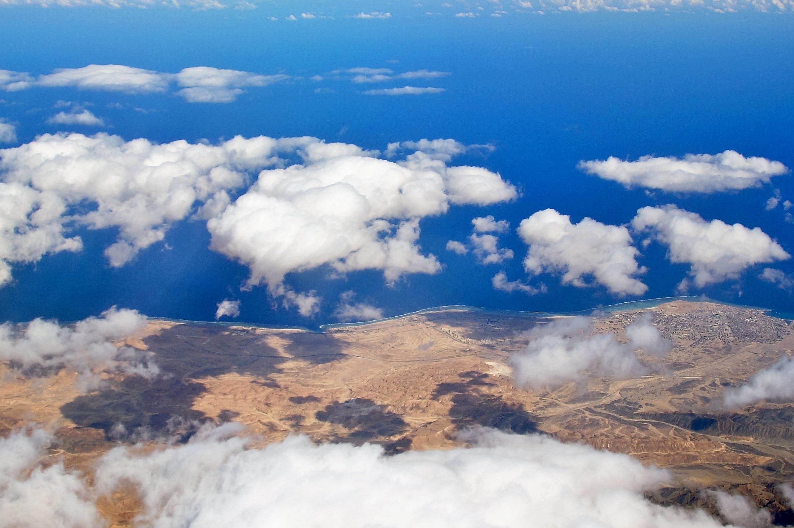 Картинки облаков вид сверху