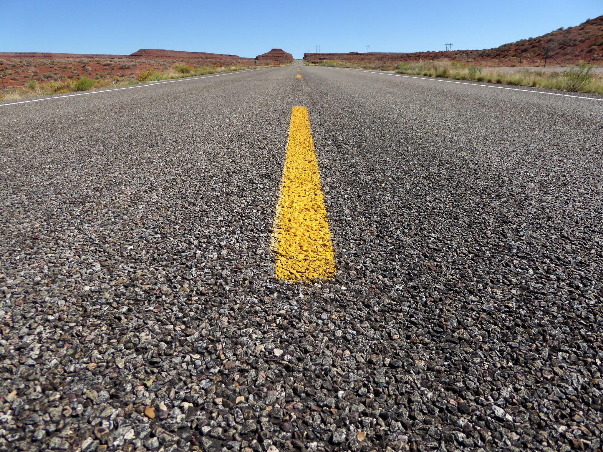 sand horizon road field desert highway stone