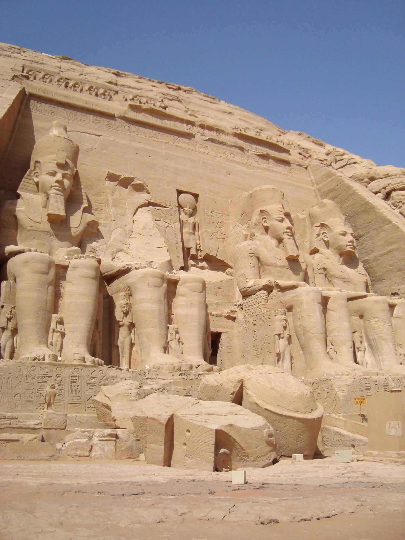 Abu Simbel, Near Aswan, Egypt  № 2245573  скачать