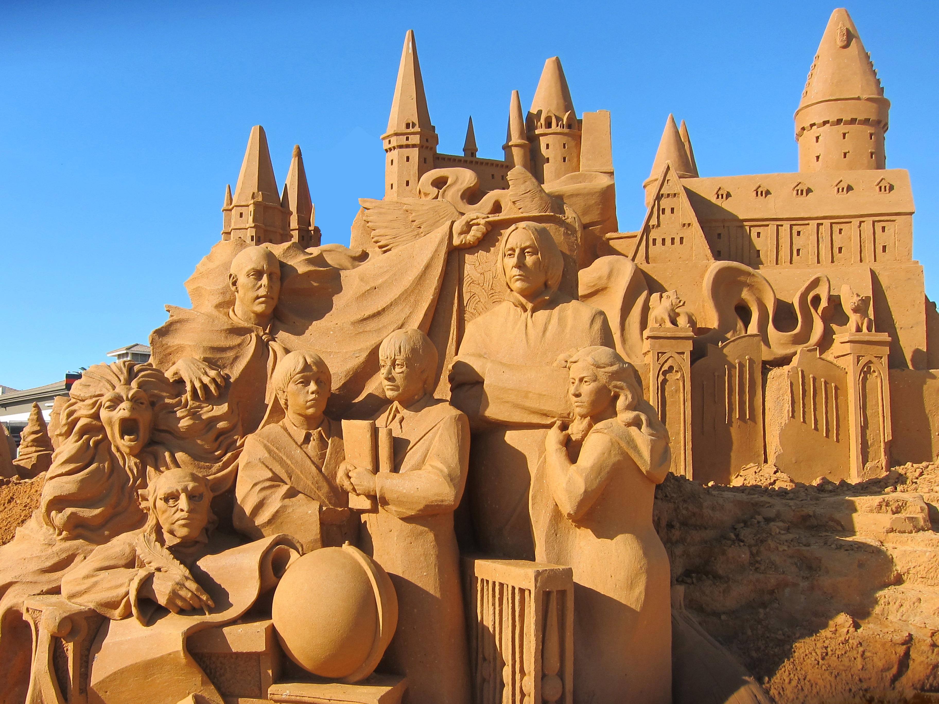 Wonderlijk Gratis Afbeeldingen : zand, monument, standbeeld, mijlpaal DS-58