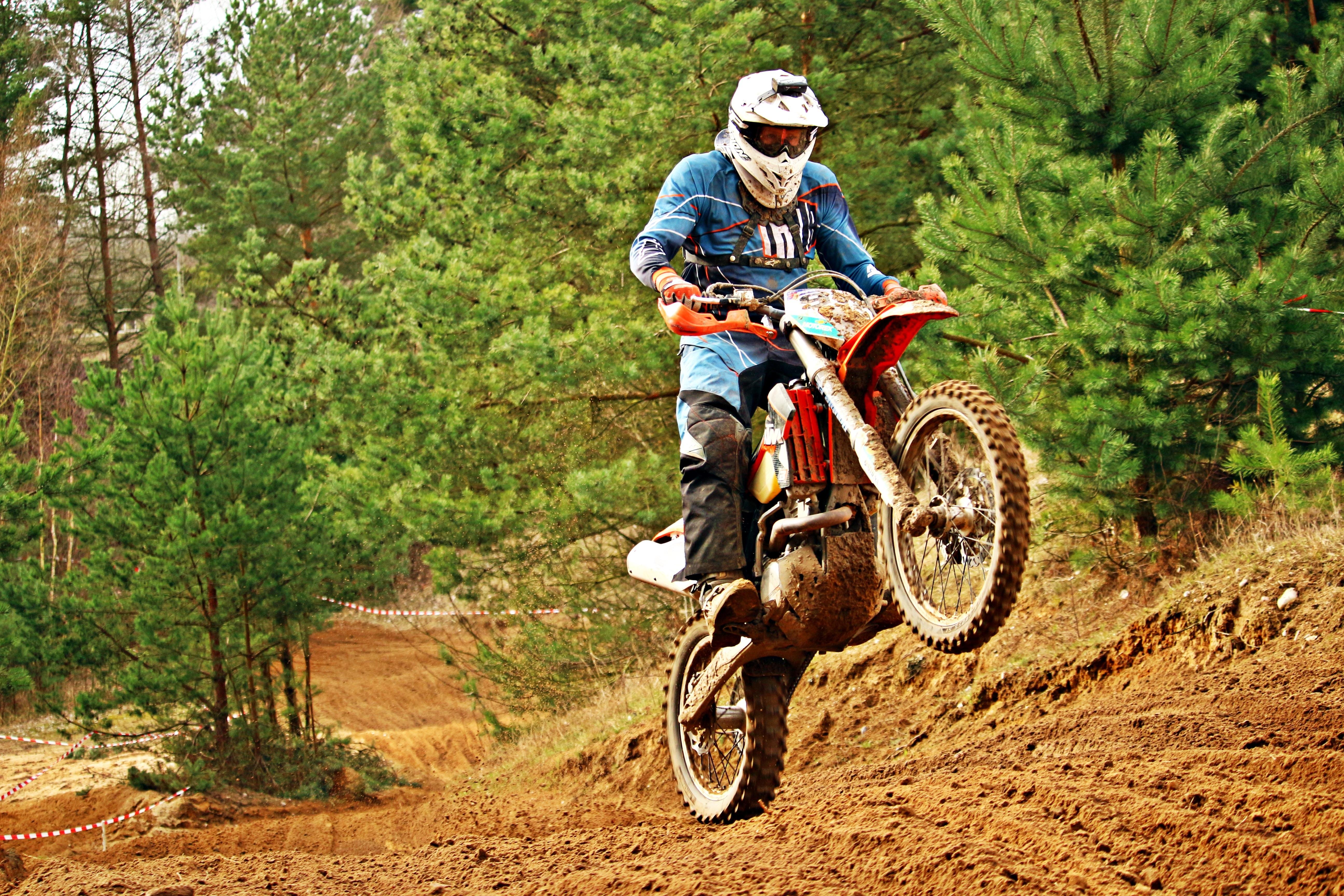 motocross e downhill